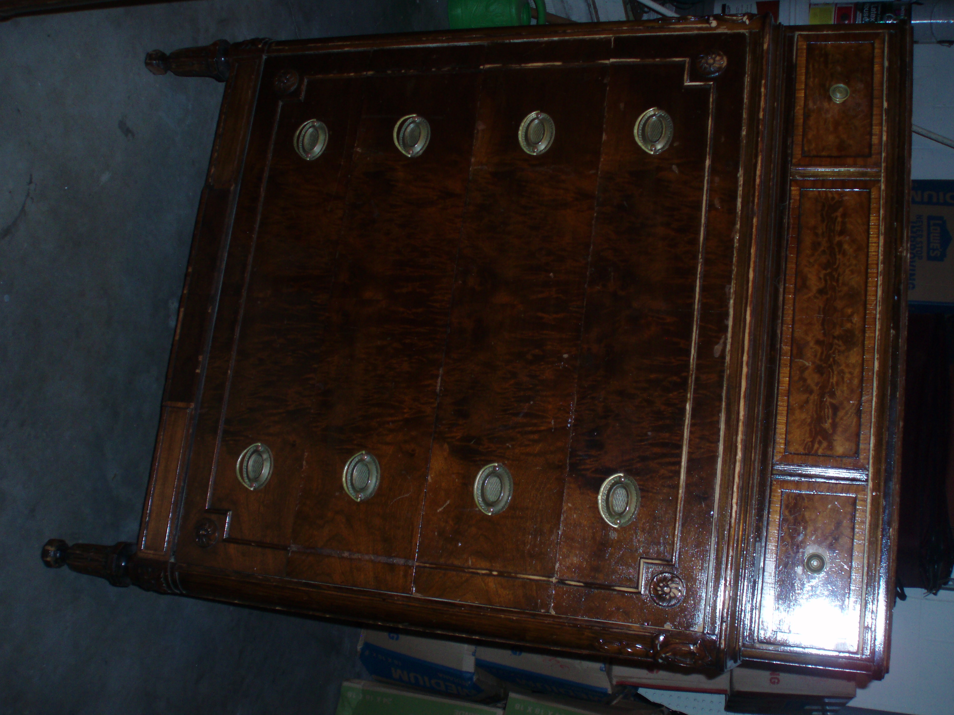 I Have What I Think Is An Antique Bedroom Dresser With