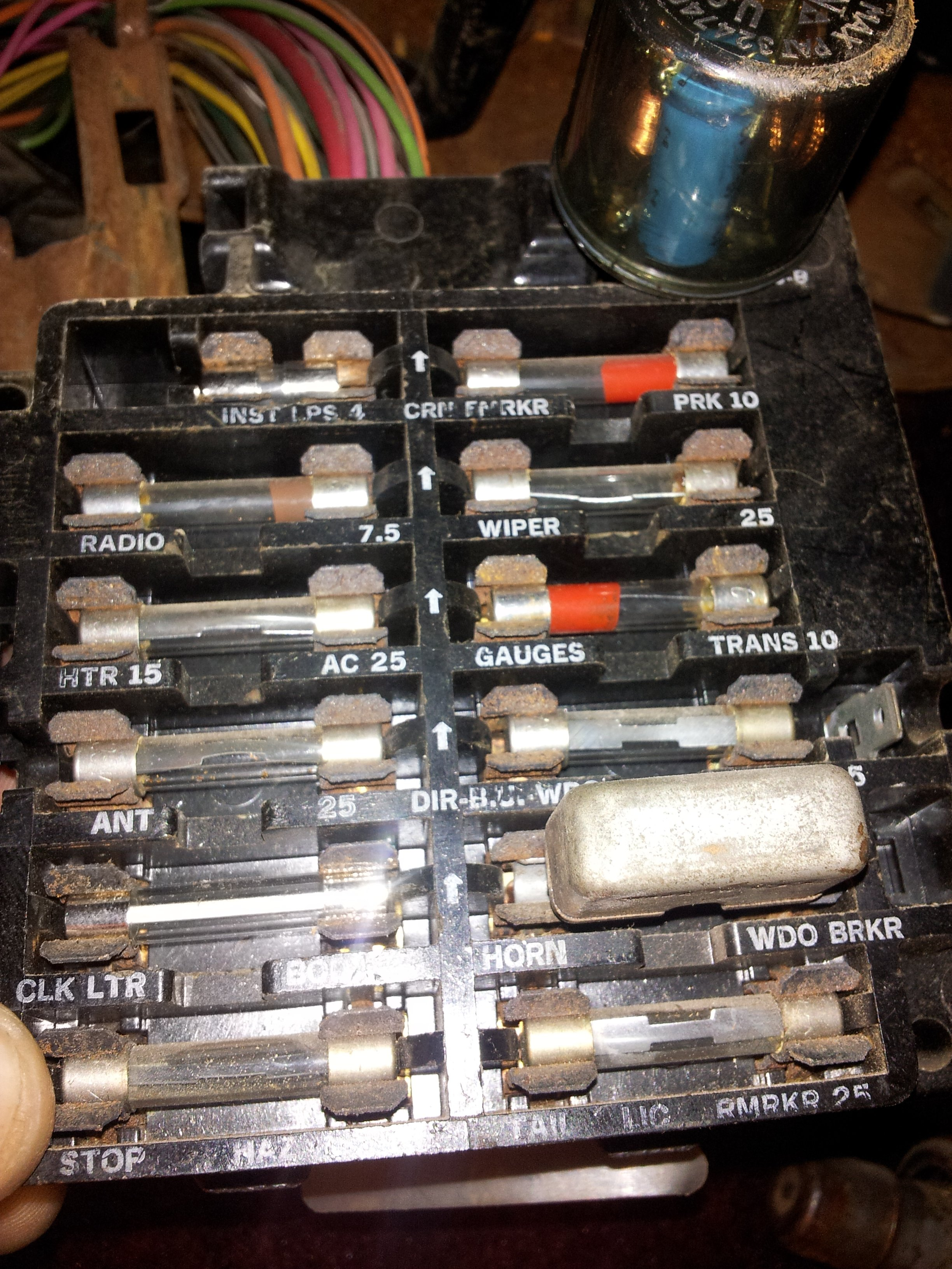 71 nova fuse box 68 nova fuse box diagram my question is i have a 1968 cadillac convertible. my ...