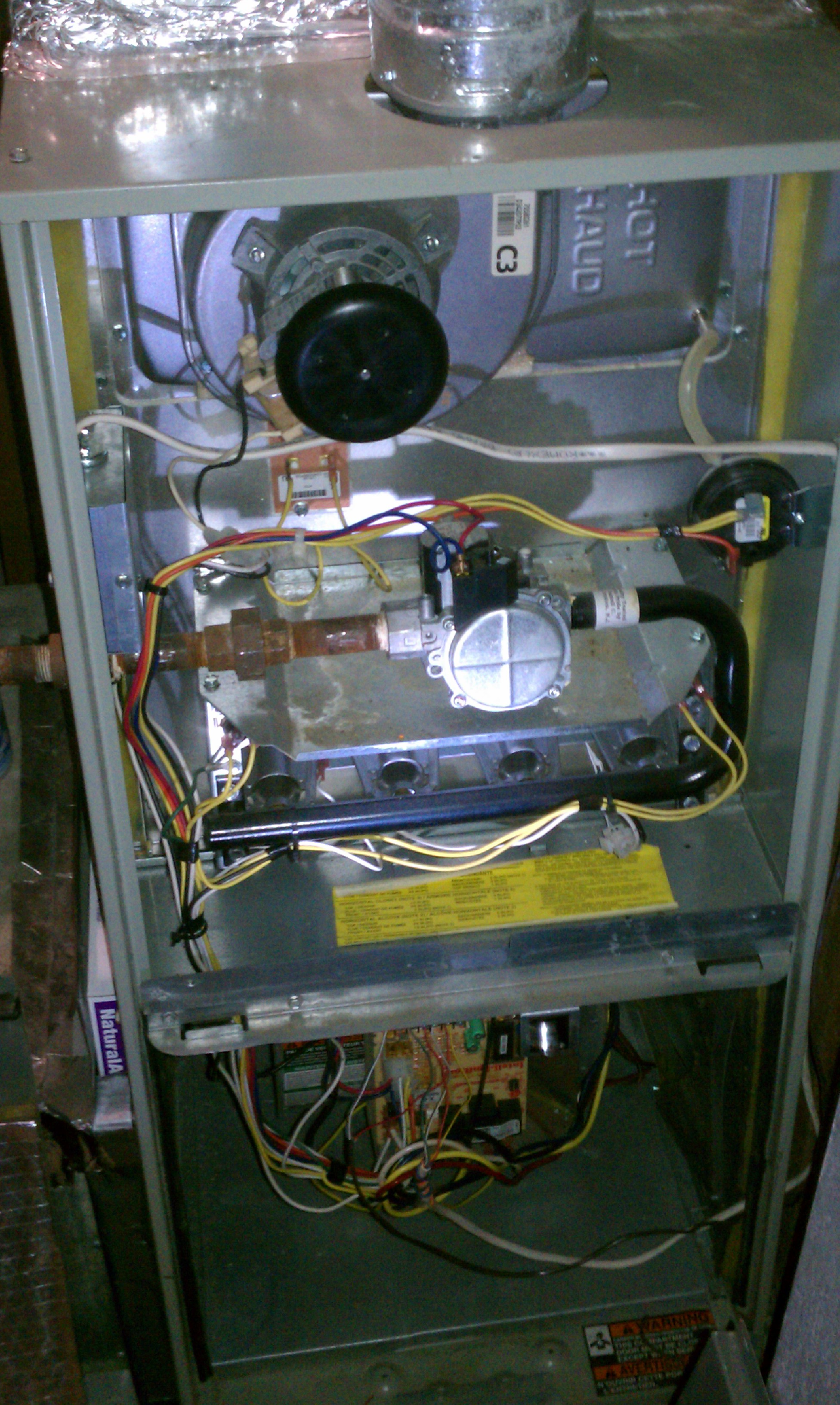 I Have A Trane Gas Furnace Xr80 Recent A Weird Problem