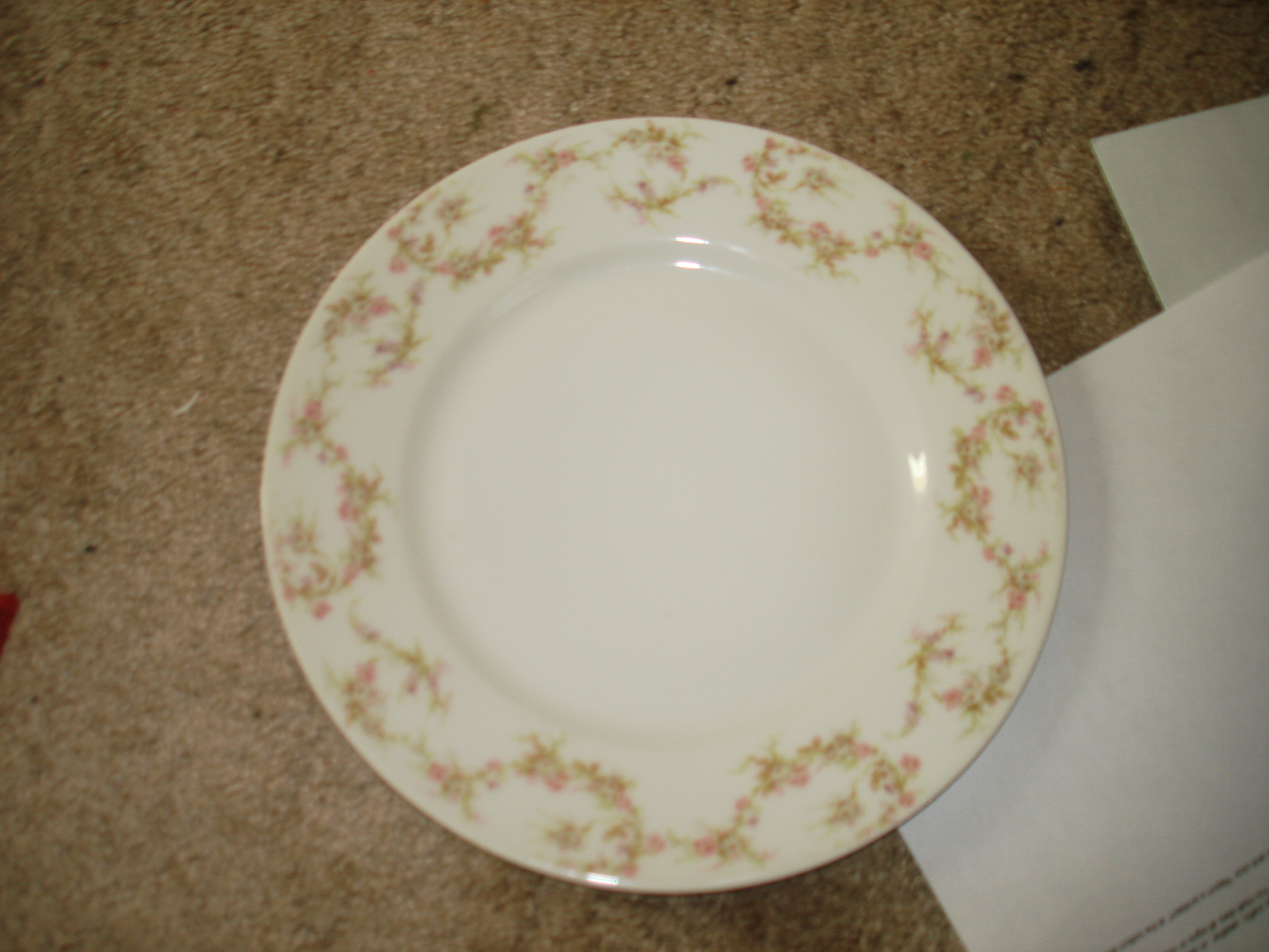 I have just purchased this THEODORE HAVILAND, LIMOGES FRANCE CHINA ...