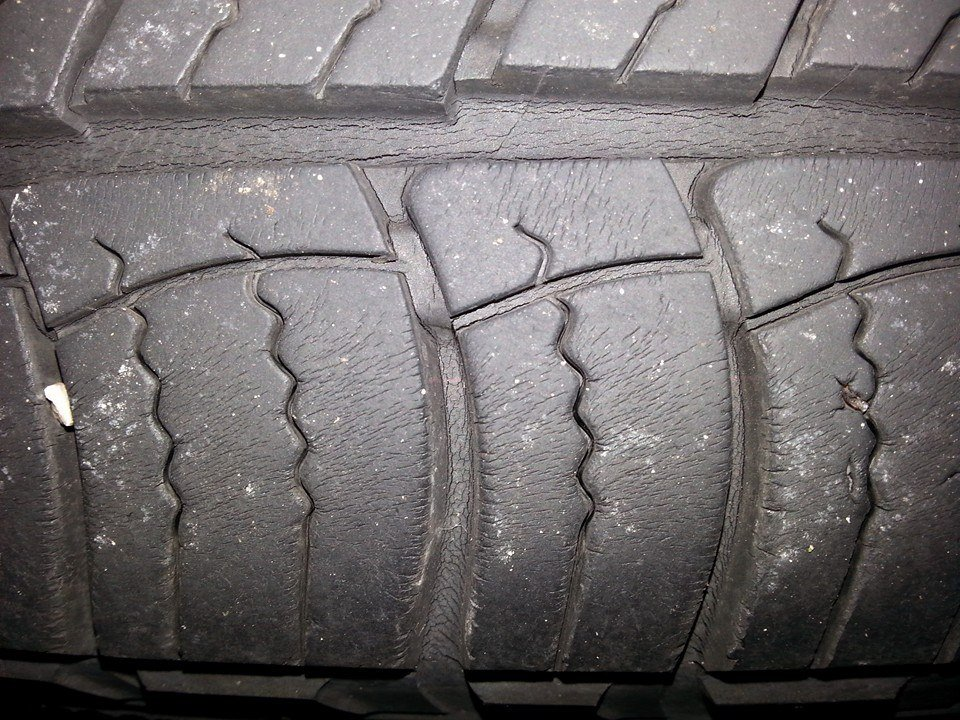 mechanic told   suv tires  dry rotted    gmc terrain