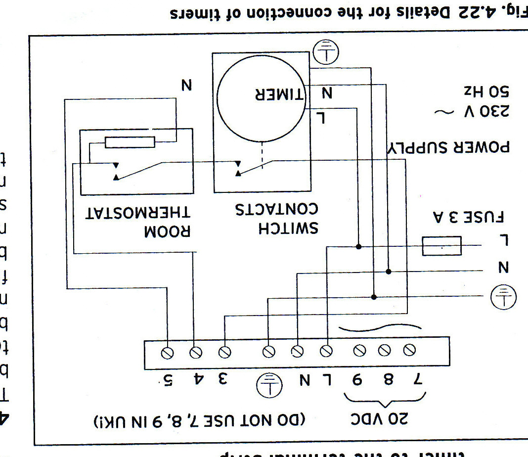 I require wiring diagram to connect honeywell CMT927 room stat