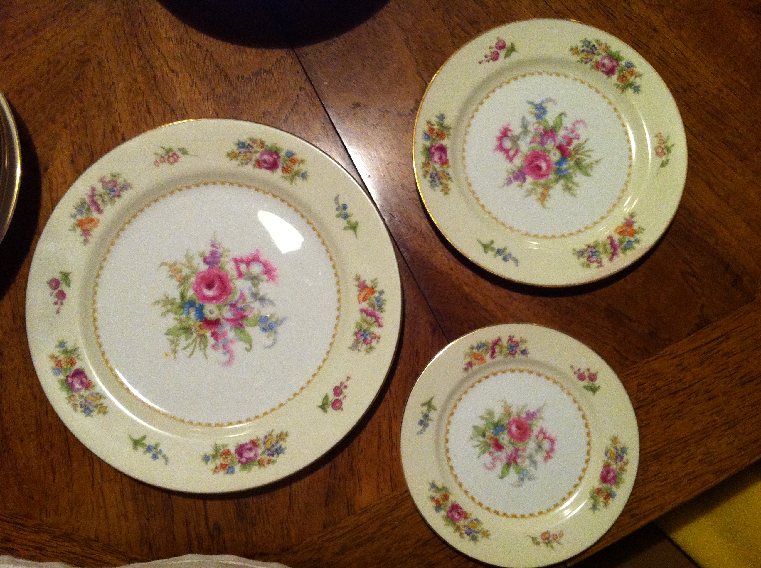 3 size plates