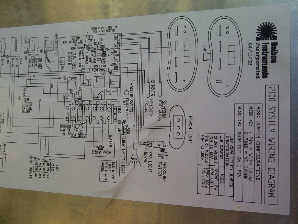 Hot Tub 220 Volt Wiring Diagram