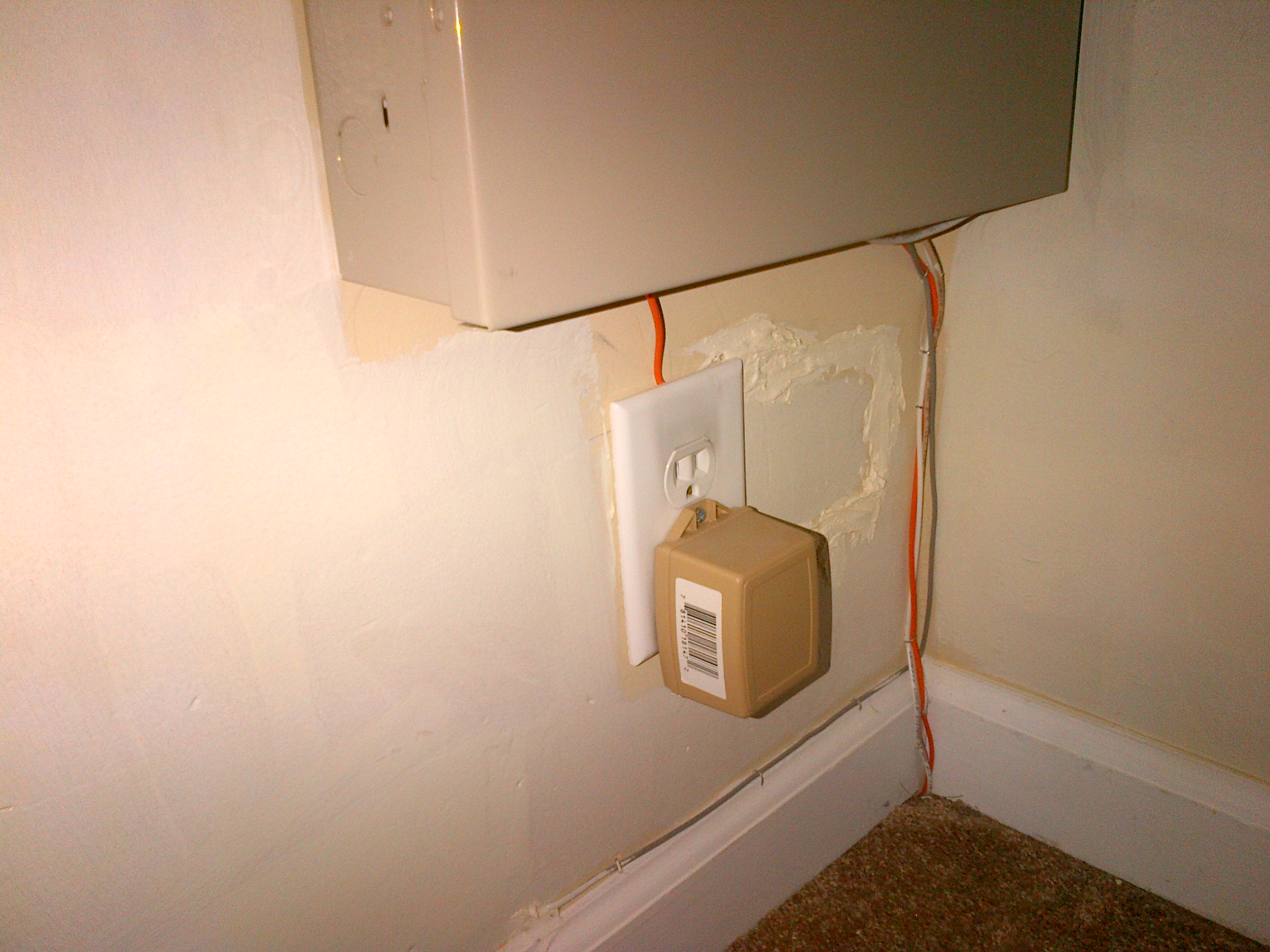 Can i add a light switch to a hardwired wall sconce with a onoff outlet that is under the sconce alarm is currenty plugged in amipublicfo Image collections
