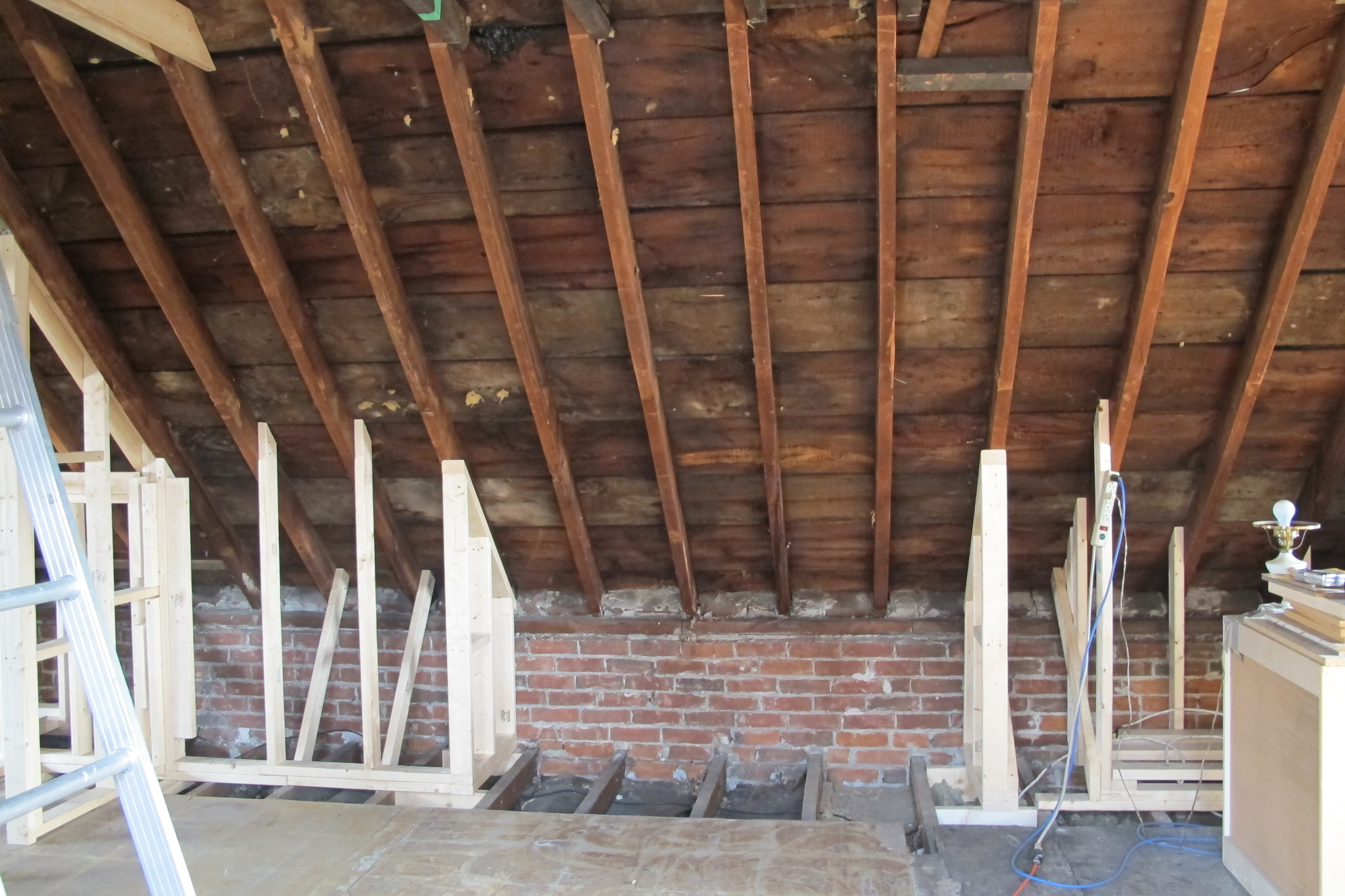 I want to add a shed dormer to the attic room I already have in my ...