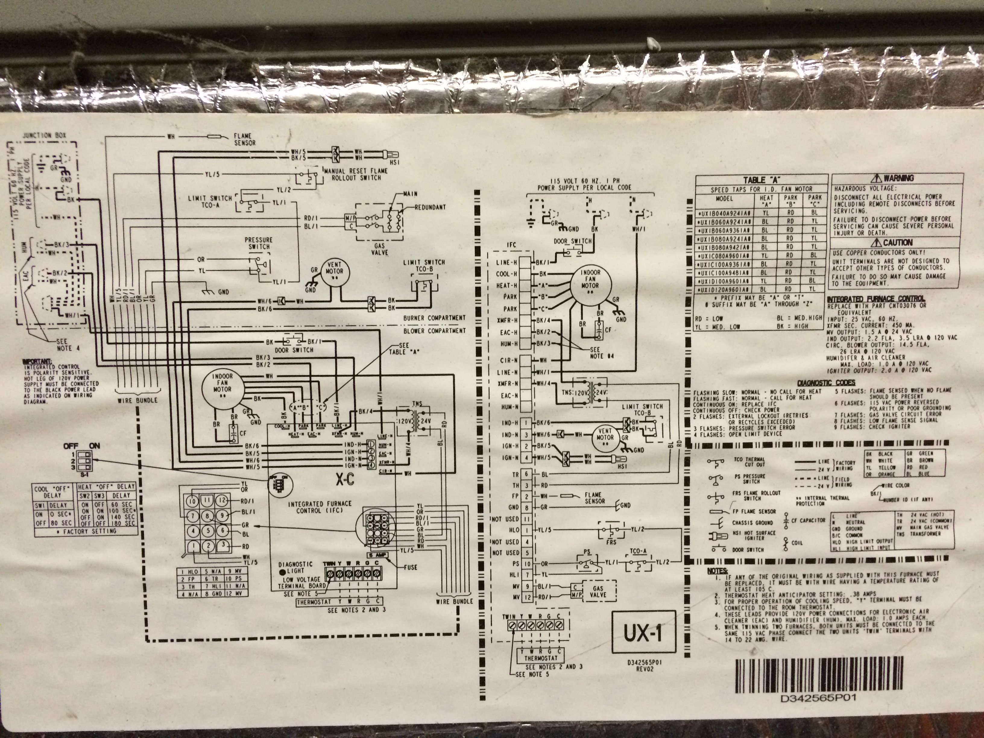 Diagram  American Standard Freedom 80 Wiring Diagram Full