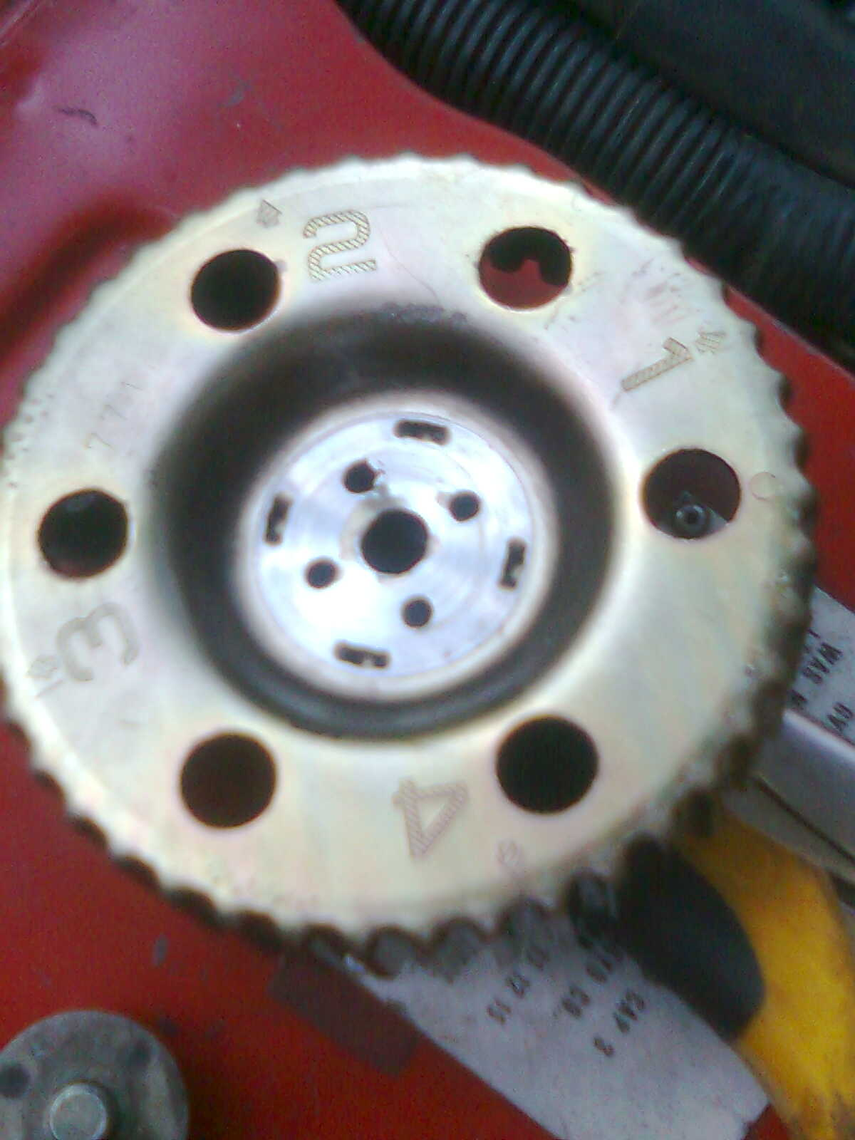 Attached photo of NUMERICAL CAM PULLEY. graphic