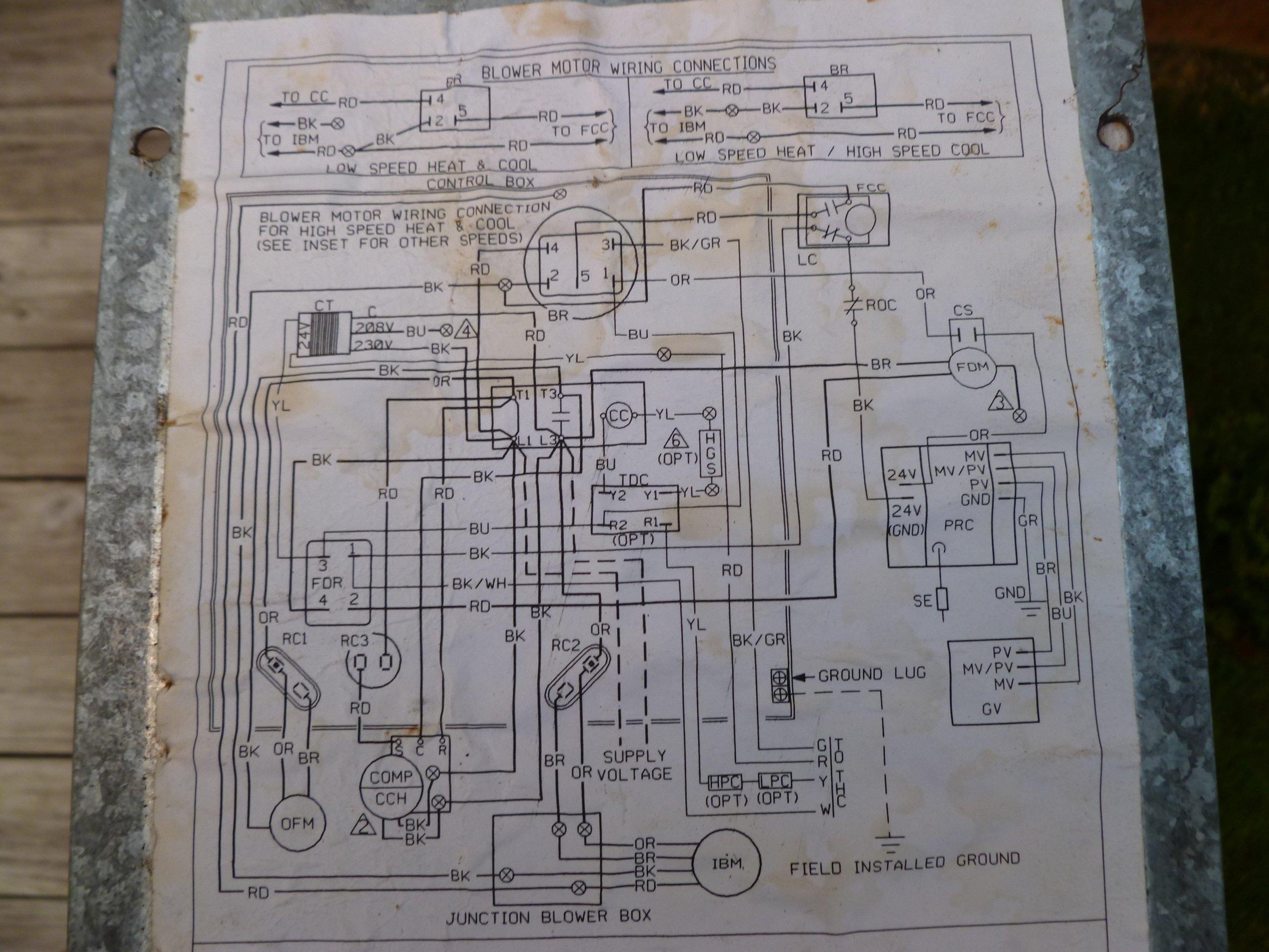 Rheem Gas Pack Wiring Diagram - Wiring Diagram •