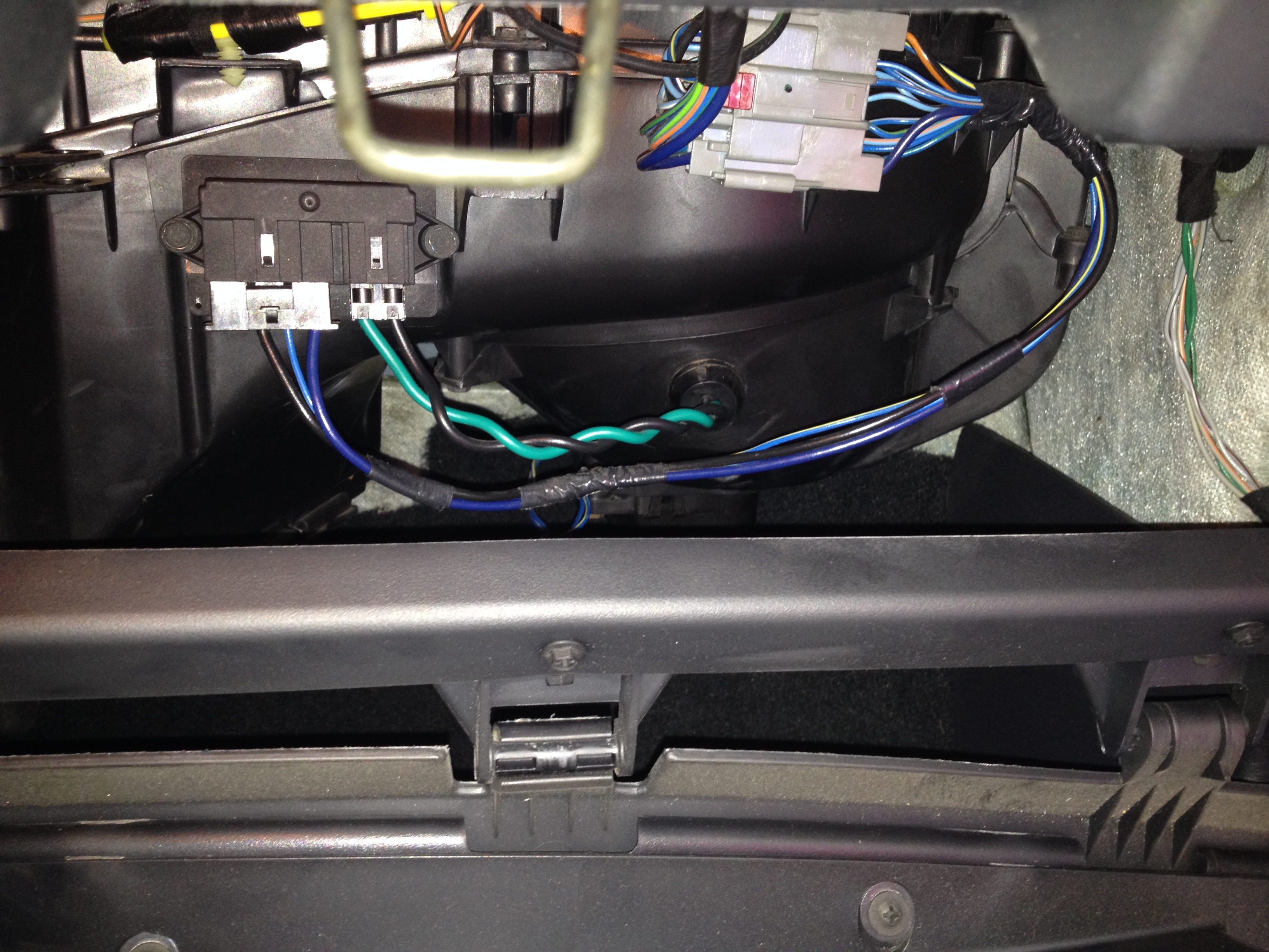2004 chrysler pacifica blower motor resistor wiring