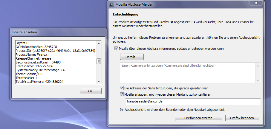 Firefox StГјrzt Andauernd Ab