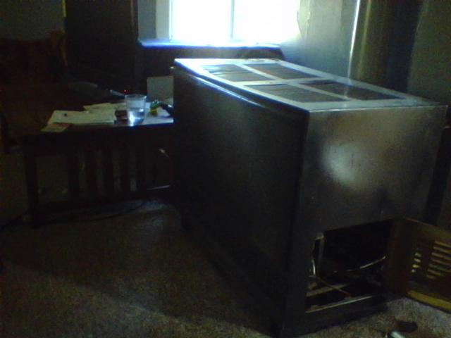 i have an old heil quaker natural gas indoor space heater type furnace when it is turn on it. Black Bedroom Furniture Sets. Home Design Ideas