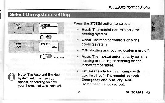 I have purschased a honeywell non programmable digital thermostat thermostat image doc sciox Images