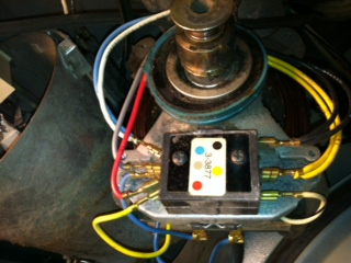 I have a maytag gas dryer model ldg4910aal with serial a3350896 neither of the directions give any indication of what to do with the white wire that is coupled together with the blue wire on the old motor asfbconference2016 Choice Image