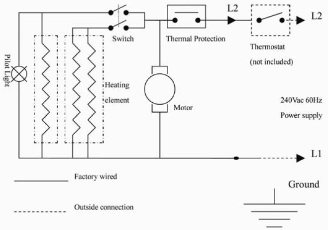 unit heater wiring diagram   26 wiring diagram images