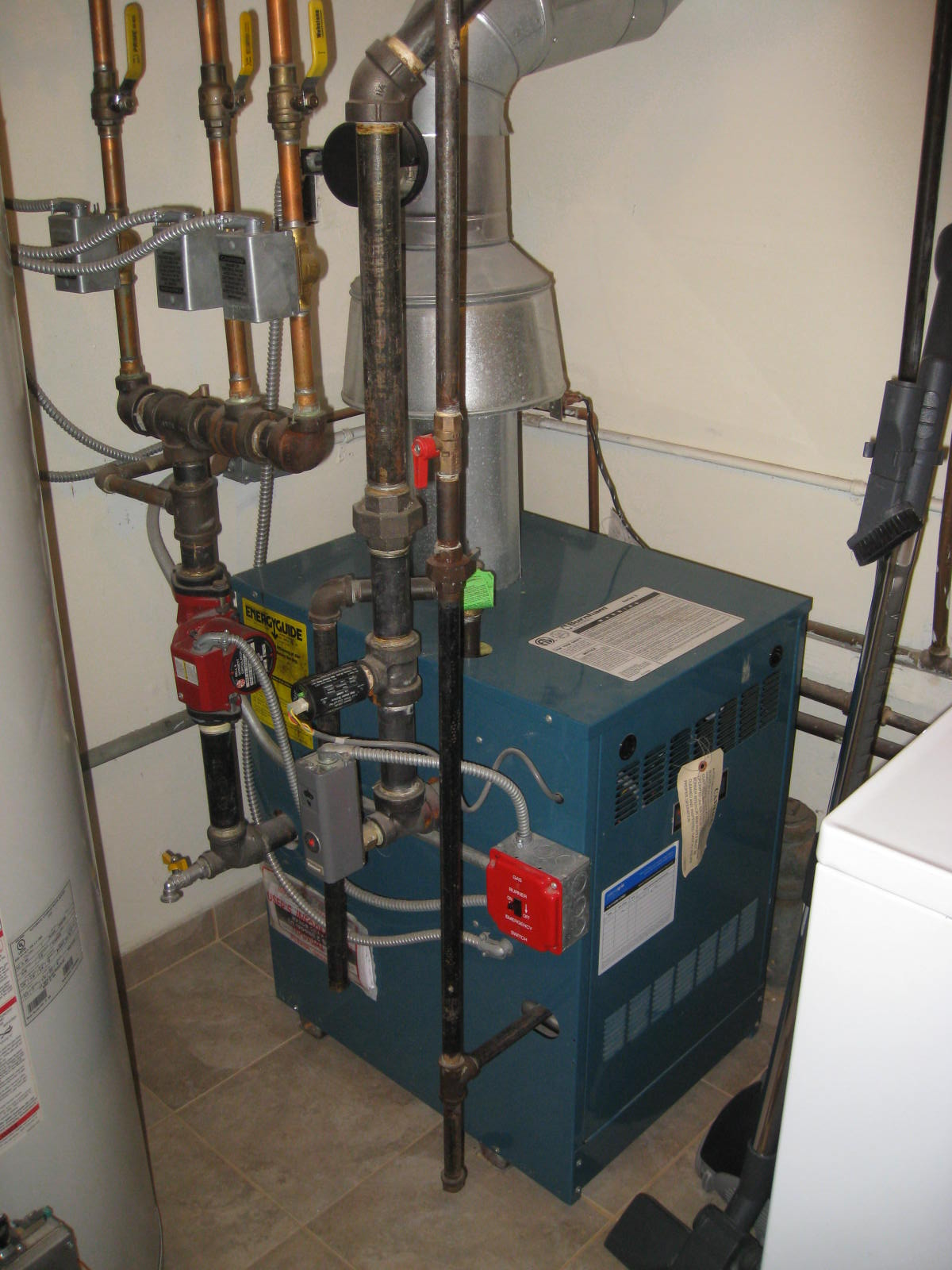 I Have A Burnham Series 2 Boiler For Our Home Natural Gas
