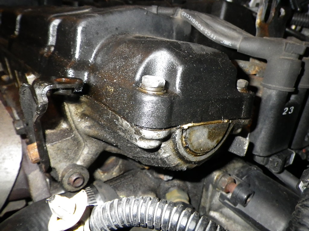 Where Is The High Engine Oil Temperature Sensor Located On