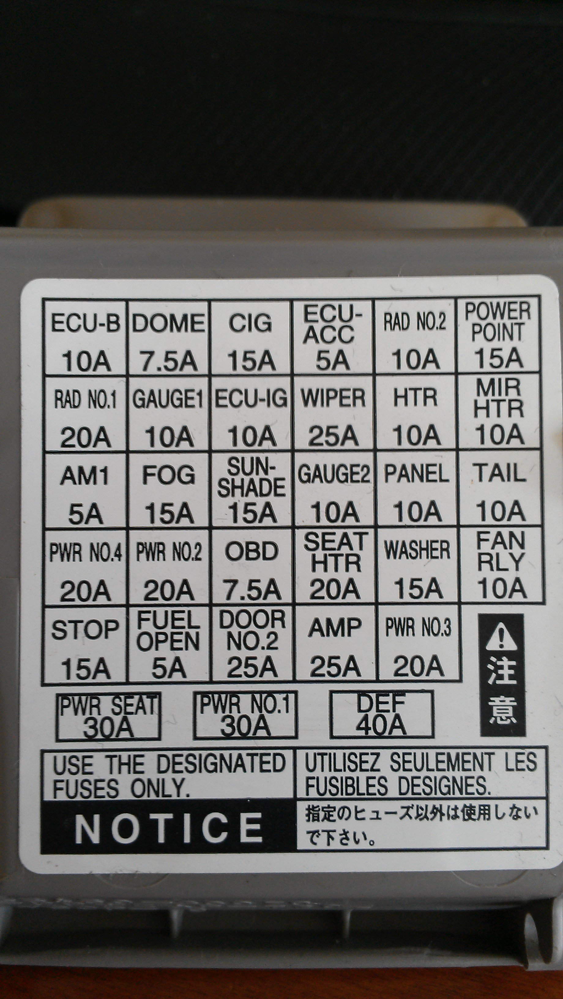 Fuse Box On Lexus Is200 Enthusiast Wiring Diagrams Is 250 Diagram 2001 Is300 Es300 Rh Perfect Sense Co 2018 Is250