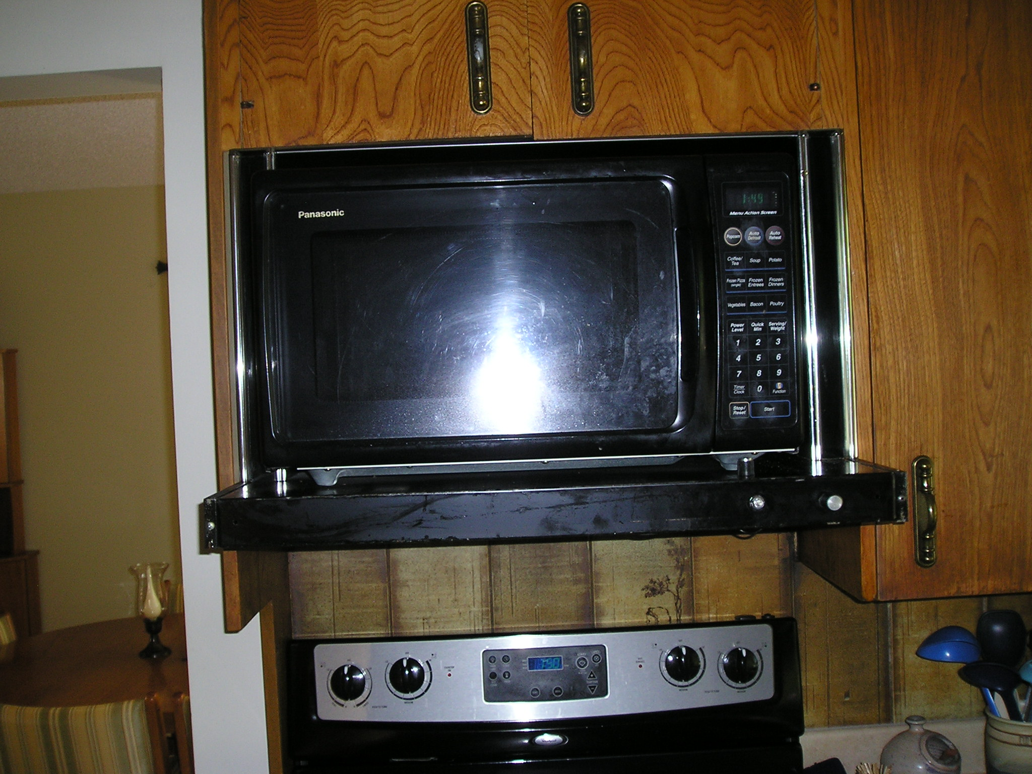 Microwave With Vent And Light Bestmicrowave