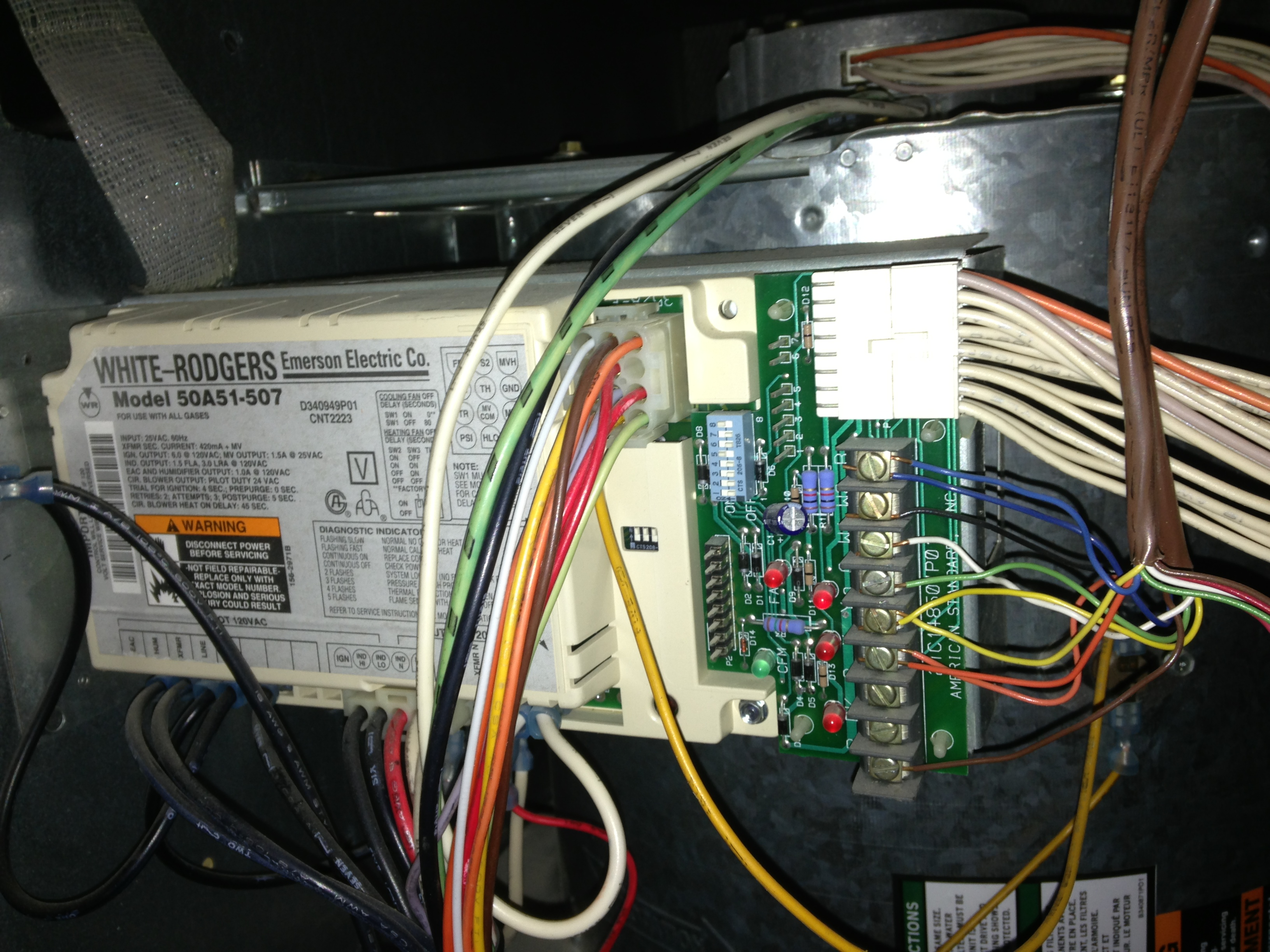 no heat i have a trane xv 80 gas system with a rodgers standard heat pump thermostat wiring diagram #6