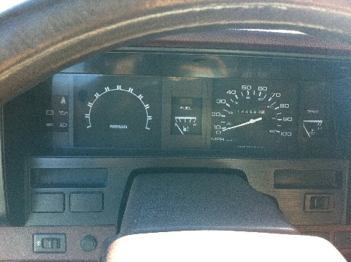Nissan Instrument Panel