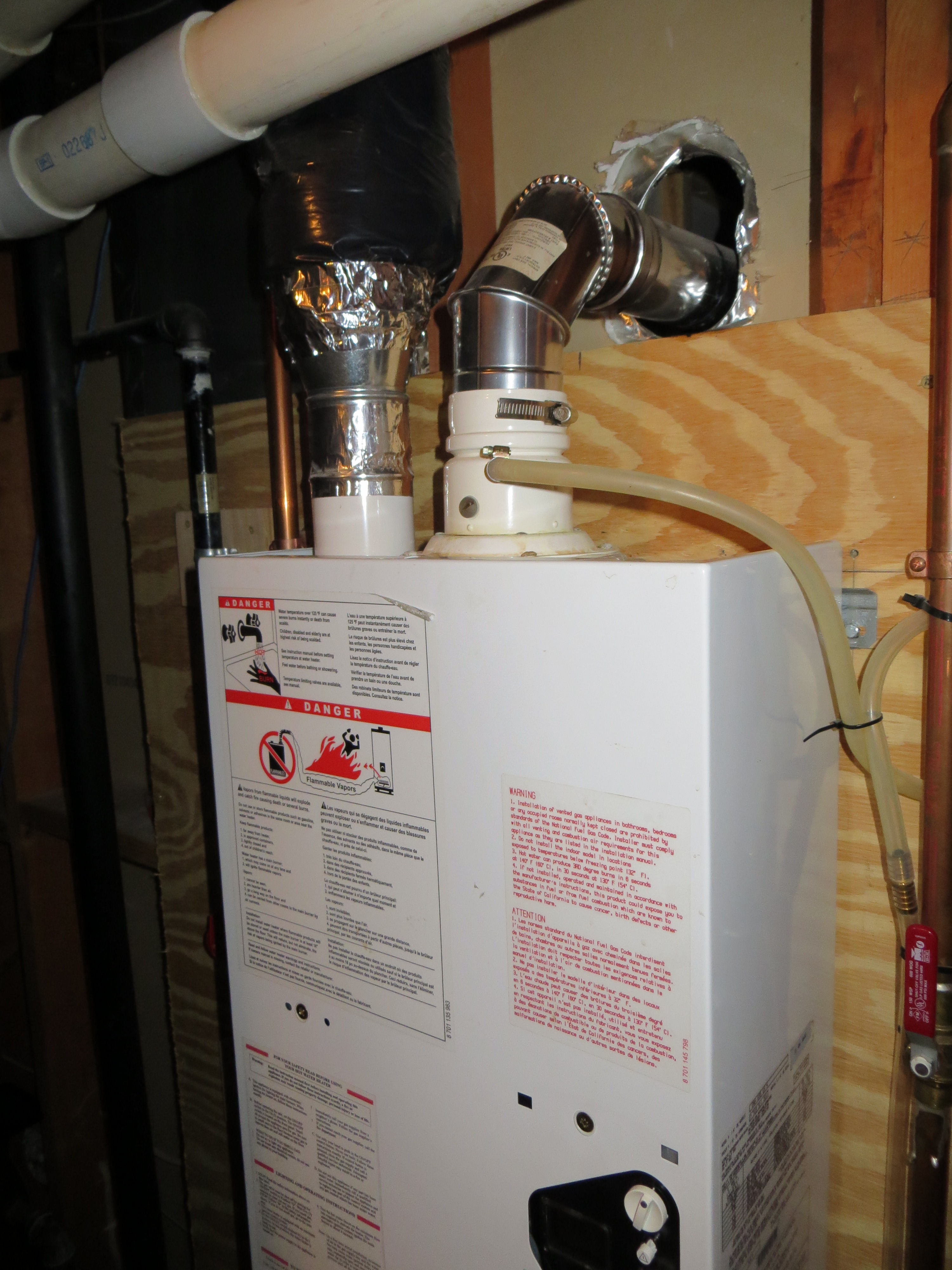 My Bosch Tankless Water Heater Will Not Light The Igniter