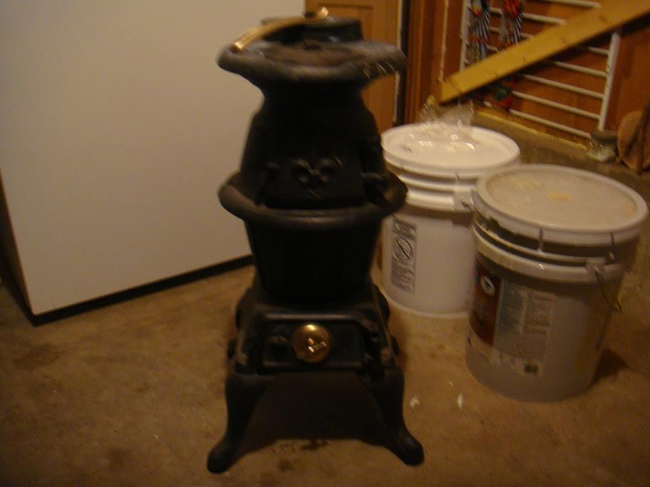 Have A Small Pot Belly Stove Good Condition