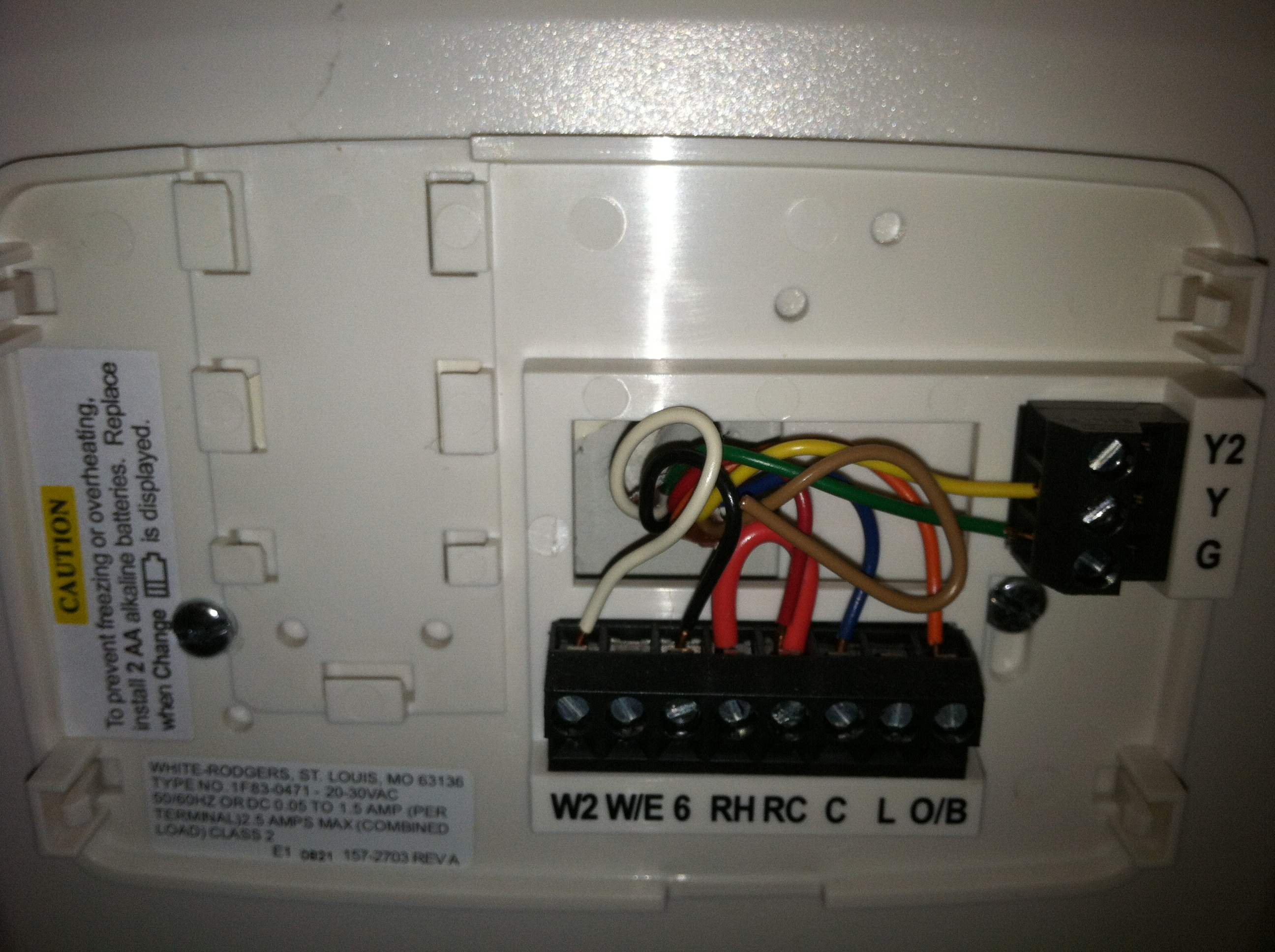Rc Wire On Thermostat