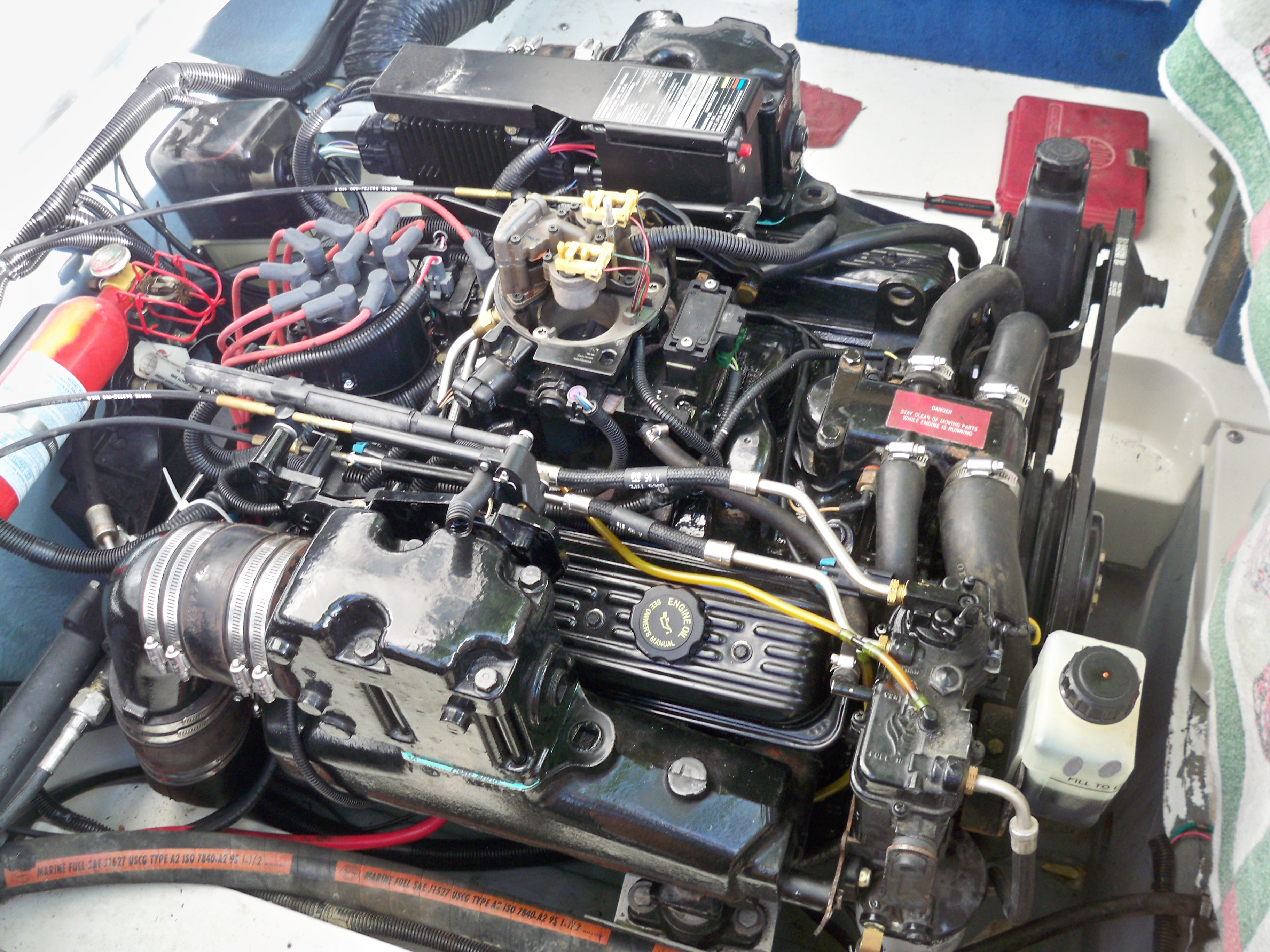 Please help. I had to rebuild my 1996 5.7LX EFI Mercruiser ...