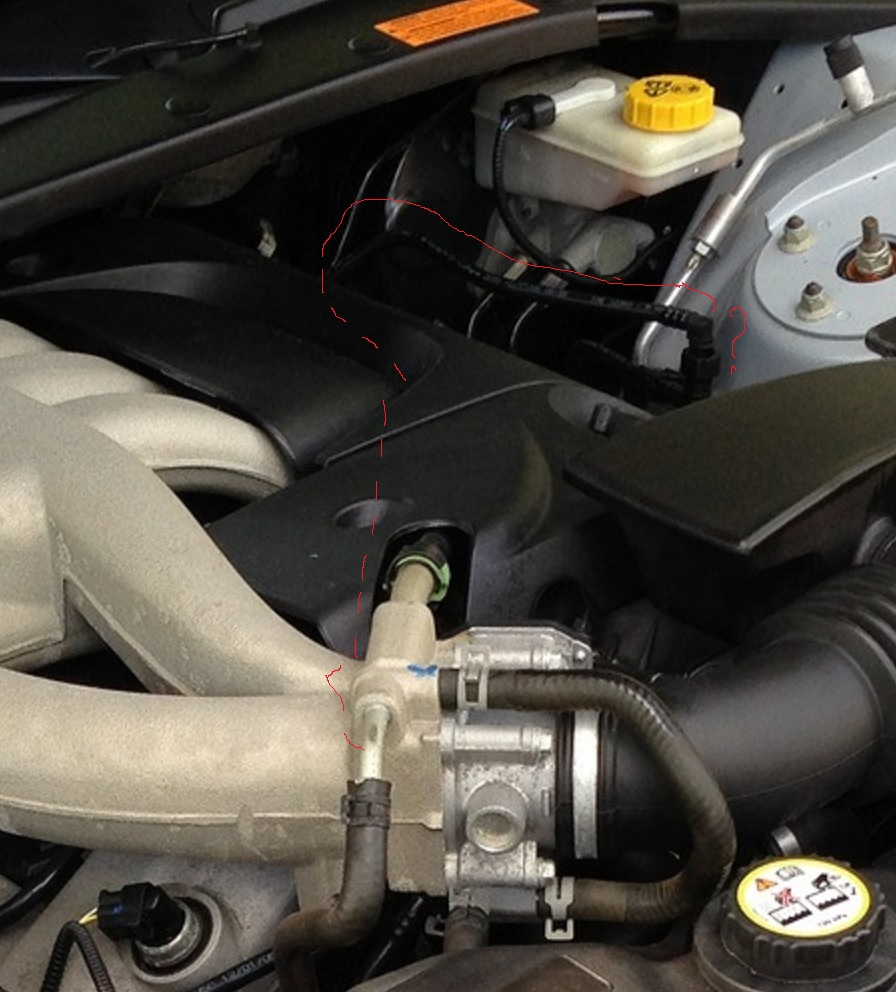 I need a vacuum line map for 2006 S-type as i have a small ... Jaguar S Type Intake Wiring Diagram on
