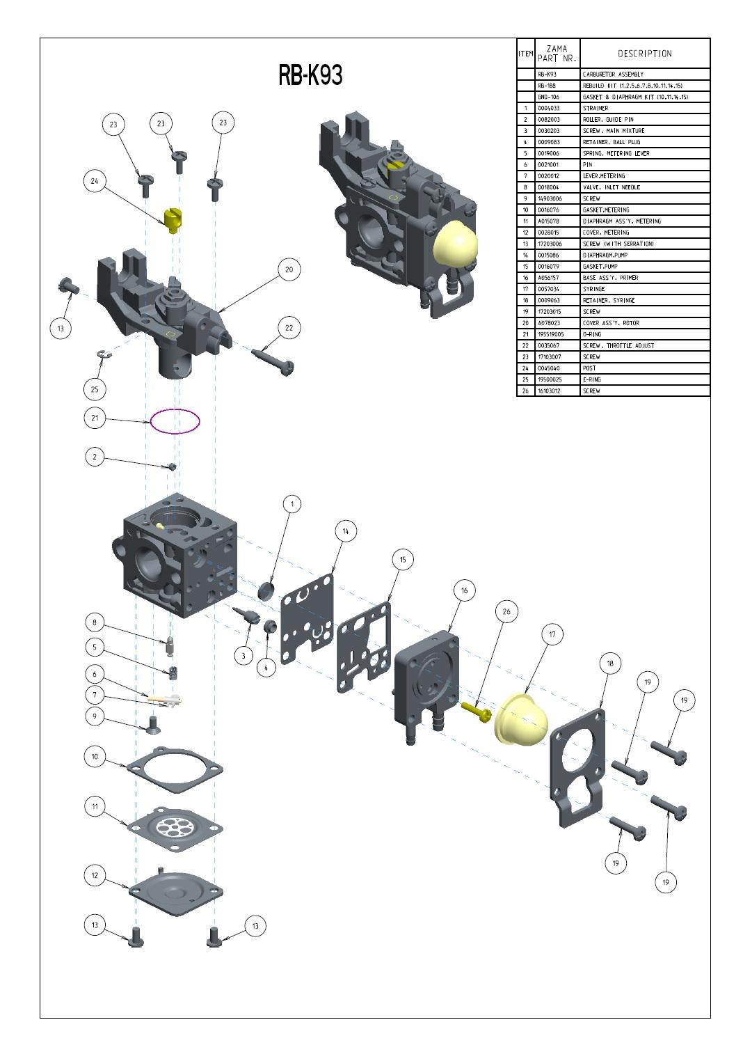 35 Echo Srm 225 Carburetor Diagram