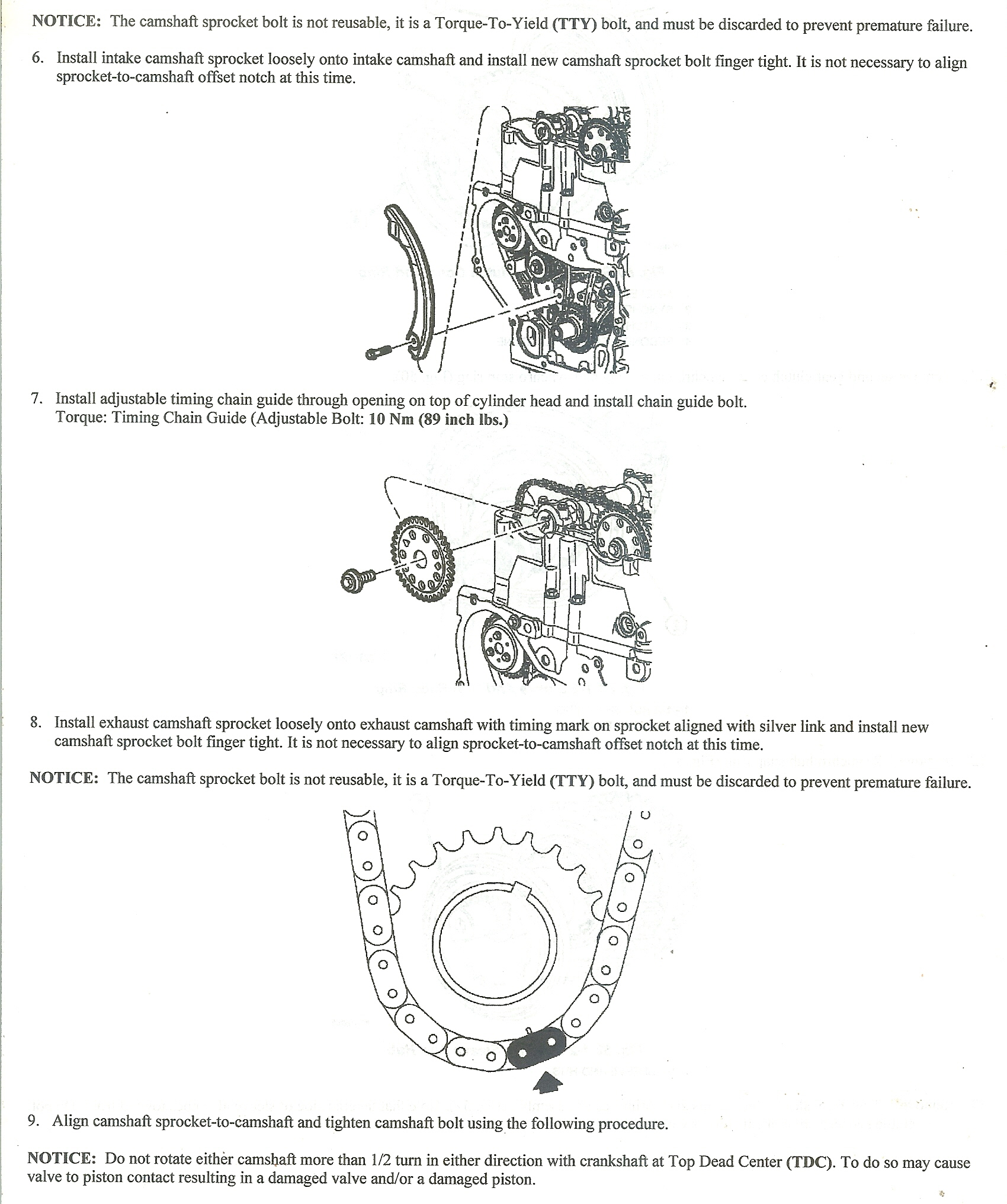 I Put A New Cylinder Head Onto 22 Ecotek Engine My Question Is Amd Diagram Of Piston 660c341a Fbea 499a Abaf 660c341