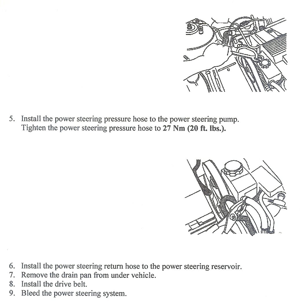2006 Cadillac Dts How Do I Replace Power Steering Pump