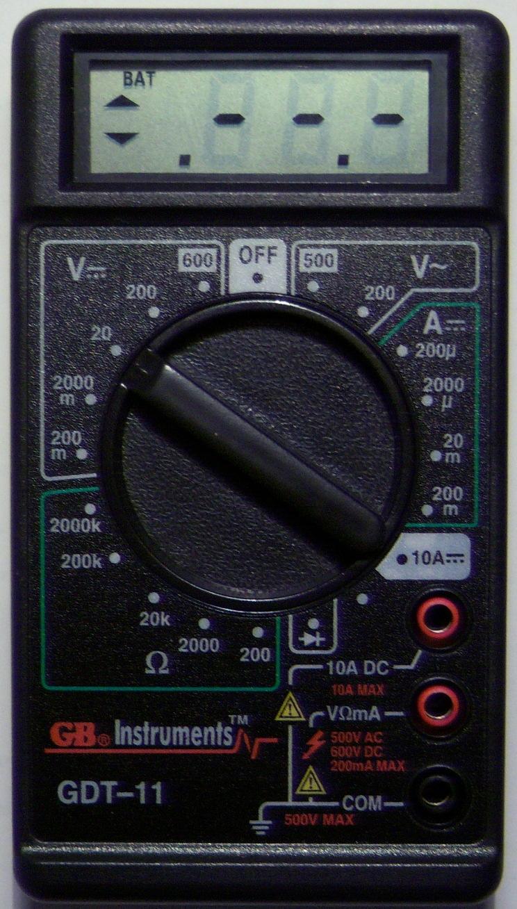 gb instruments gdt 11 manual rh gb instruments gdt 11 manual milesfiles de instruction manual for gb instruments gdt 11 GB Instruments GDT-11 Multimeter