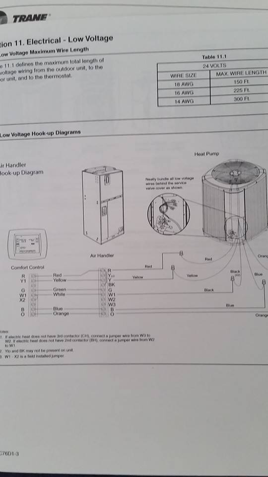 no power to my thermostat it is a trane xr 401 or xr 402 model it rh justanswer com Trane Wiring Diagrams Model Glenda Trane Wiring Diagrams Model Glenda