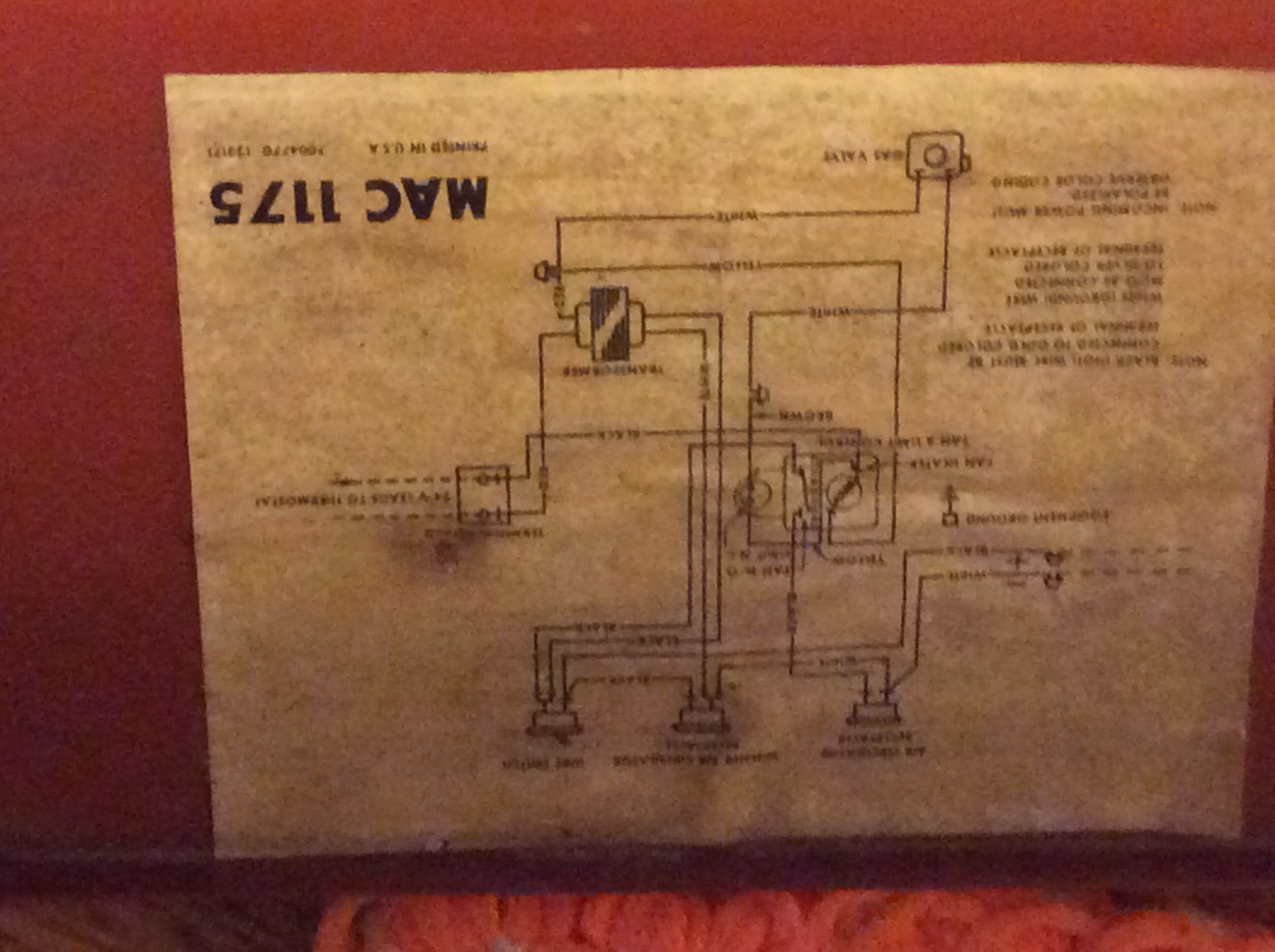 Pilot Lit Intertherm Mac 1175 Mobilhome Propane First Time Of Year Control Valve Wiring Diagram Image