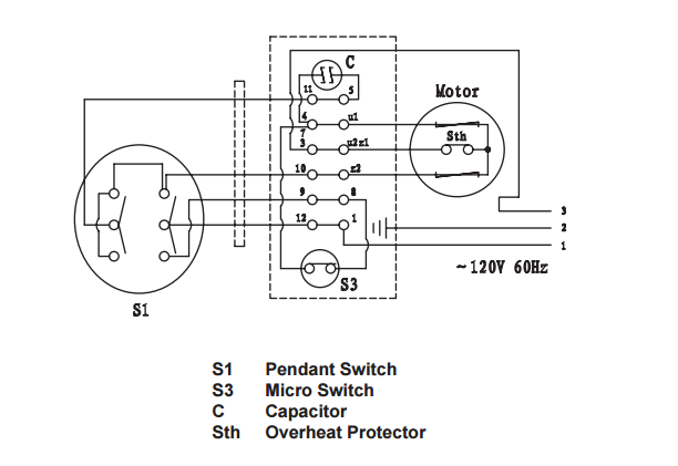 Wiring Diagram For Pendant Switch - Wiring Diagrams on