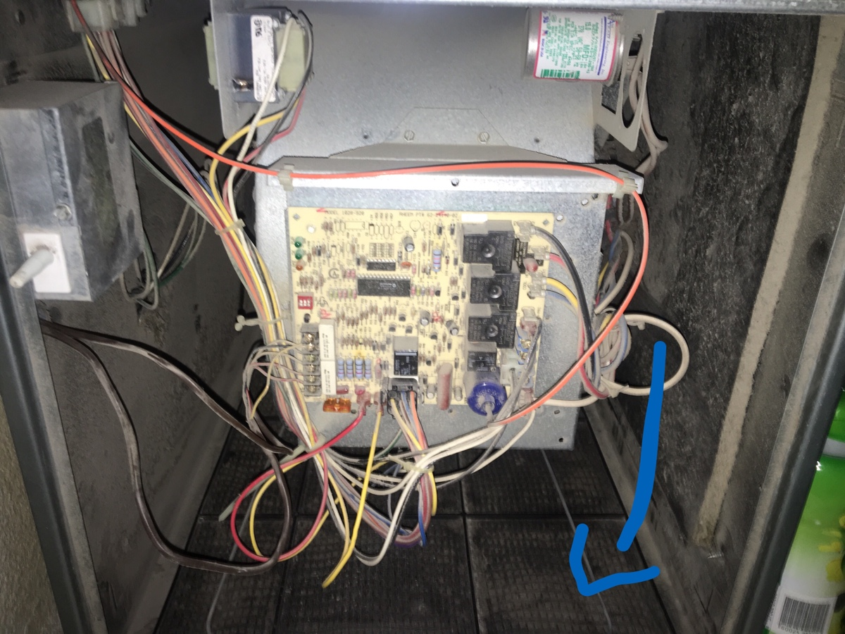Questions Pertaining To Rheem Criterion Ii Furnace  1  Please See Attached Pic 1  I Would Like