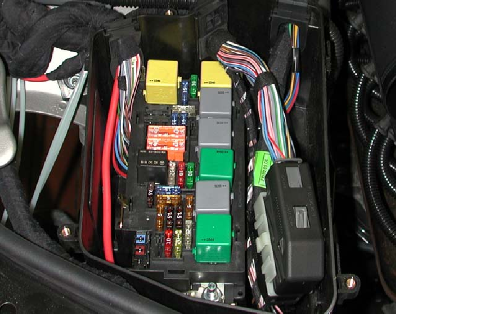 I Have A 2007 Gl450 I Change The Relay Box In The Engine