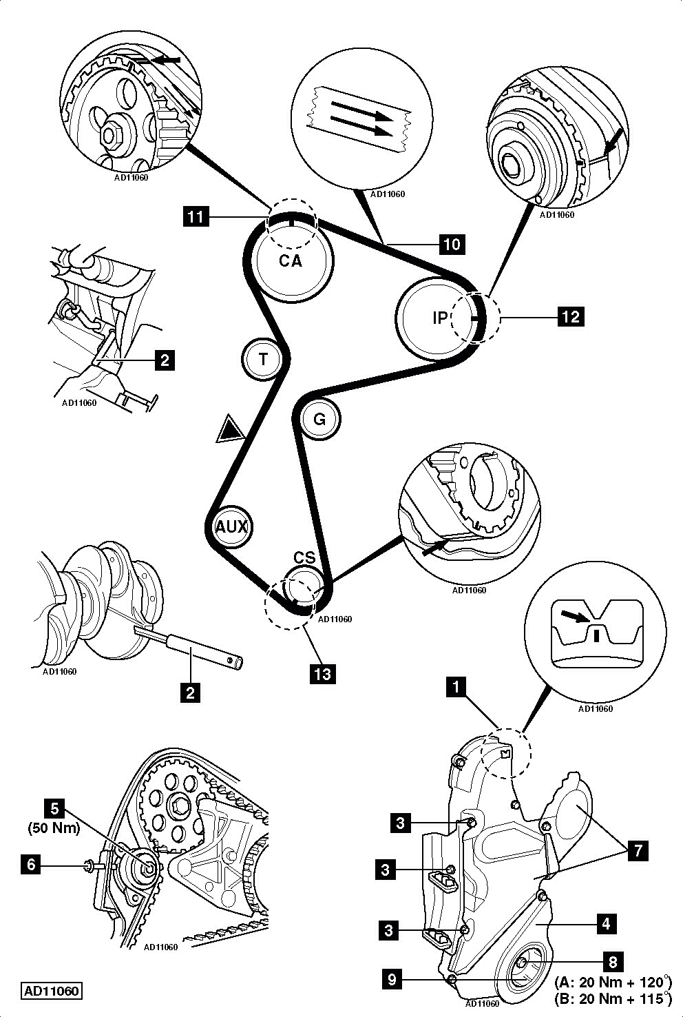 Im Replacing A Timing Belt On Renault Kangoo 19 D D55 And When I Central Locking Wiring Diagram 95fa7665 Cc11 4838 B615 30e49ae8465d Image