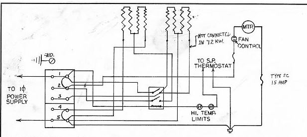wiring a 220v garage heater  cadet bh752   running 10  2