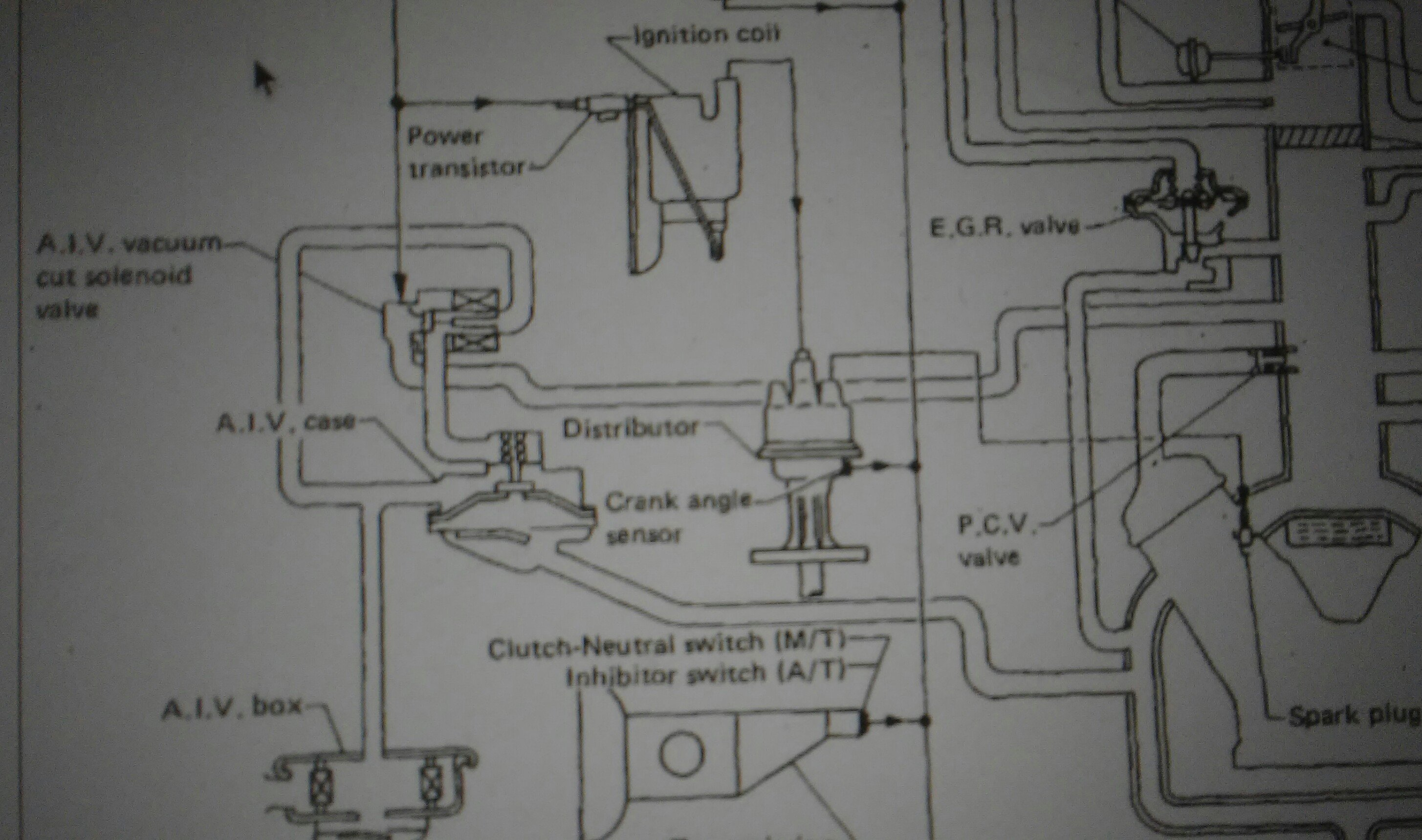 Nissan D21 Vacuum Line Diagram Together With Datsun 280z Fuel Pump