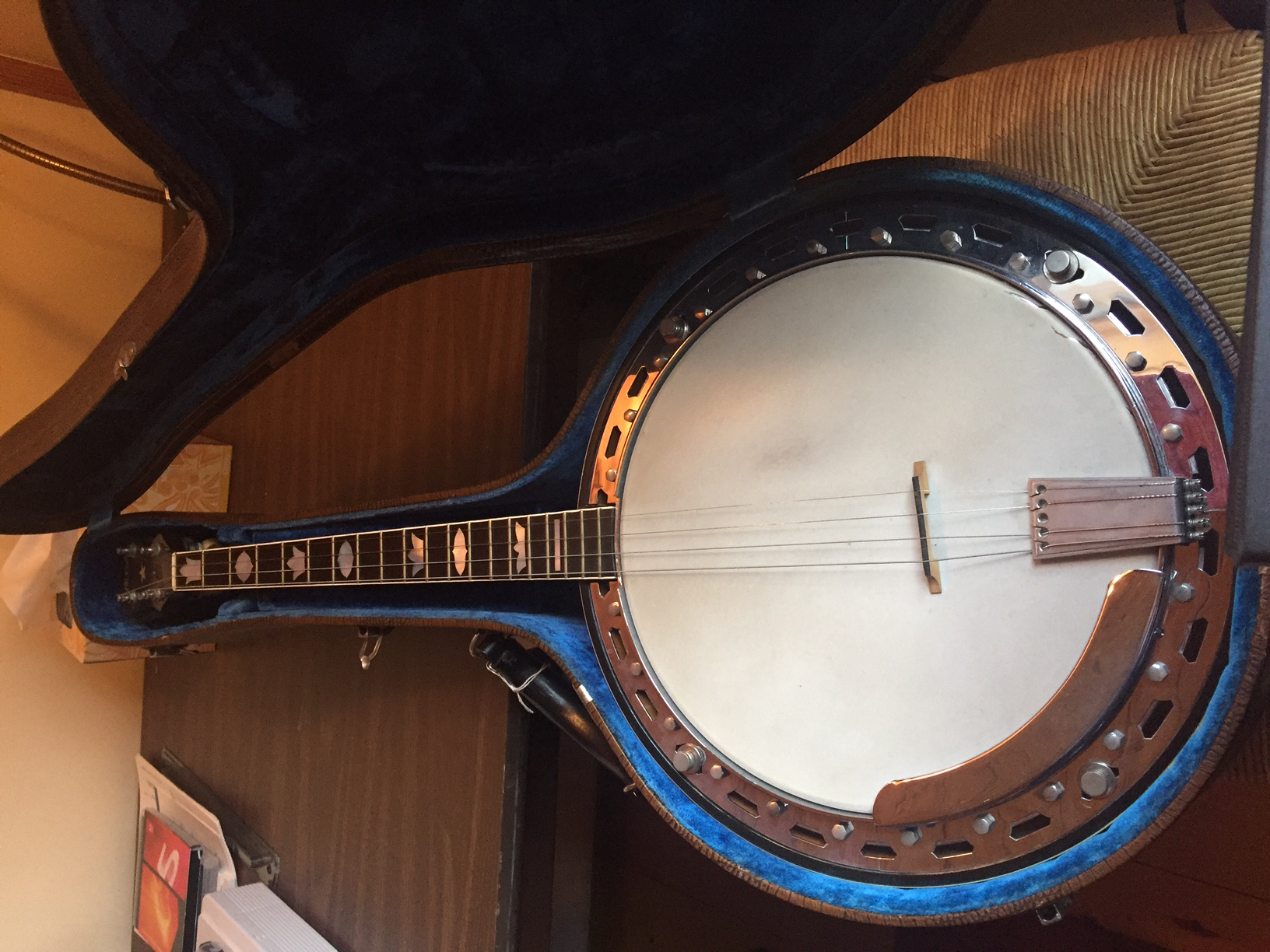 I have a Vega banjo in original case, don't know what the