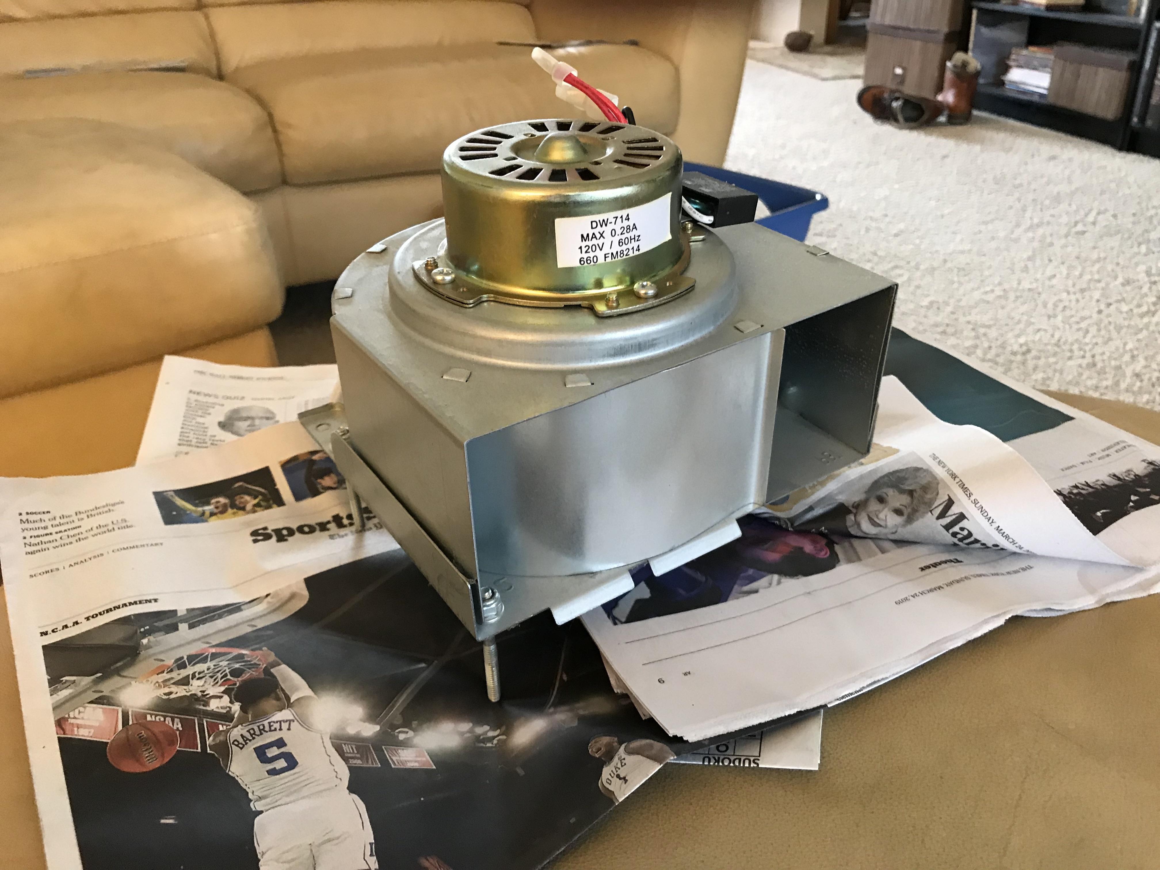 Harbor Breeze Bathroom Fan 80200 Replacement Parts ...