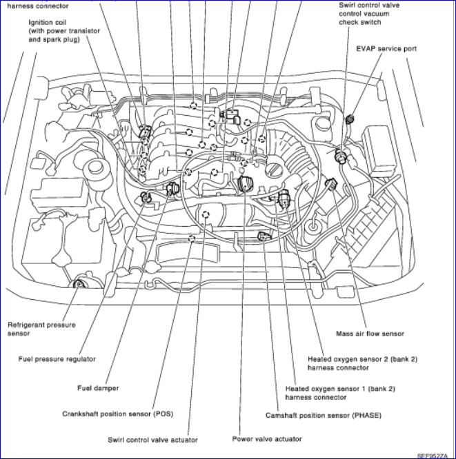Replace vvt solenoid po1140  2002 infinitl q4  Code came up