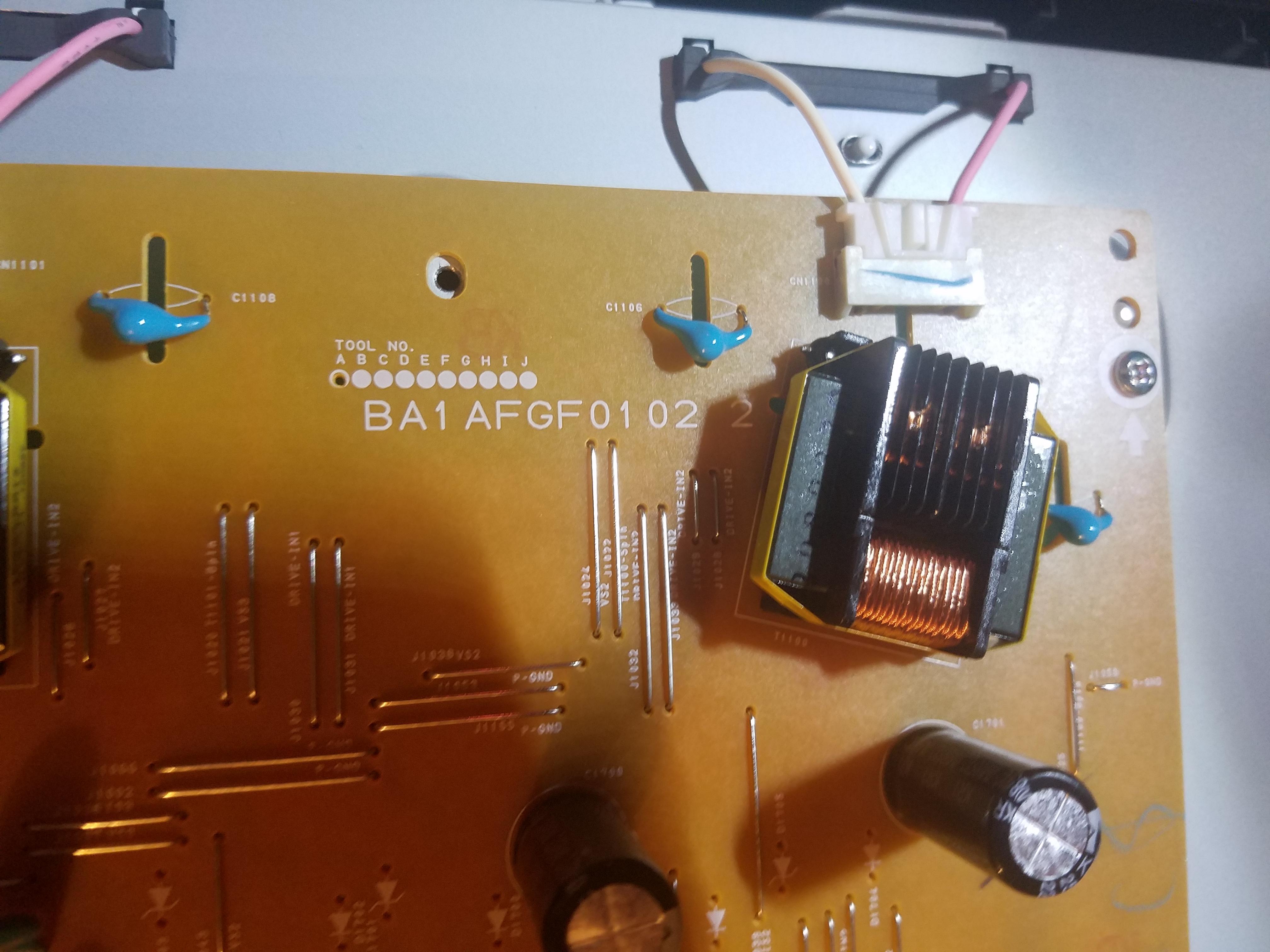 32: Funai, model lc320em3f a, no power whatsoever, no