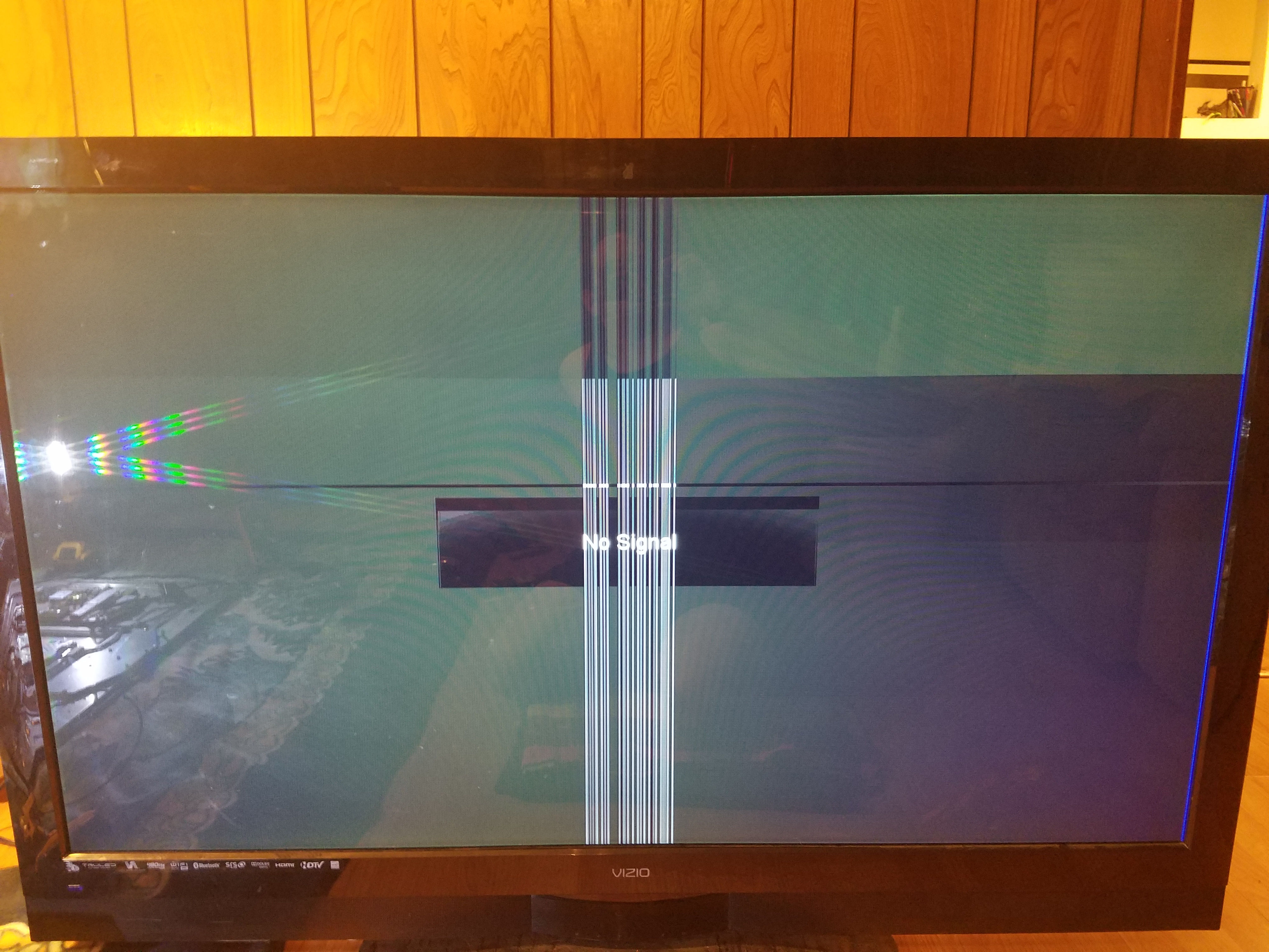 Vizio XVT3D554SV, has multiple problems, but its a VERY nice unit, I