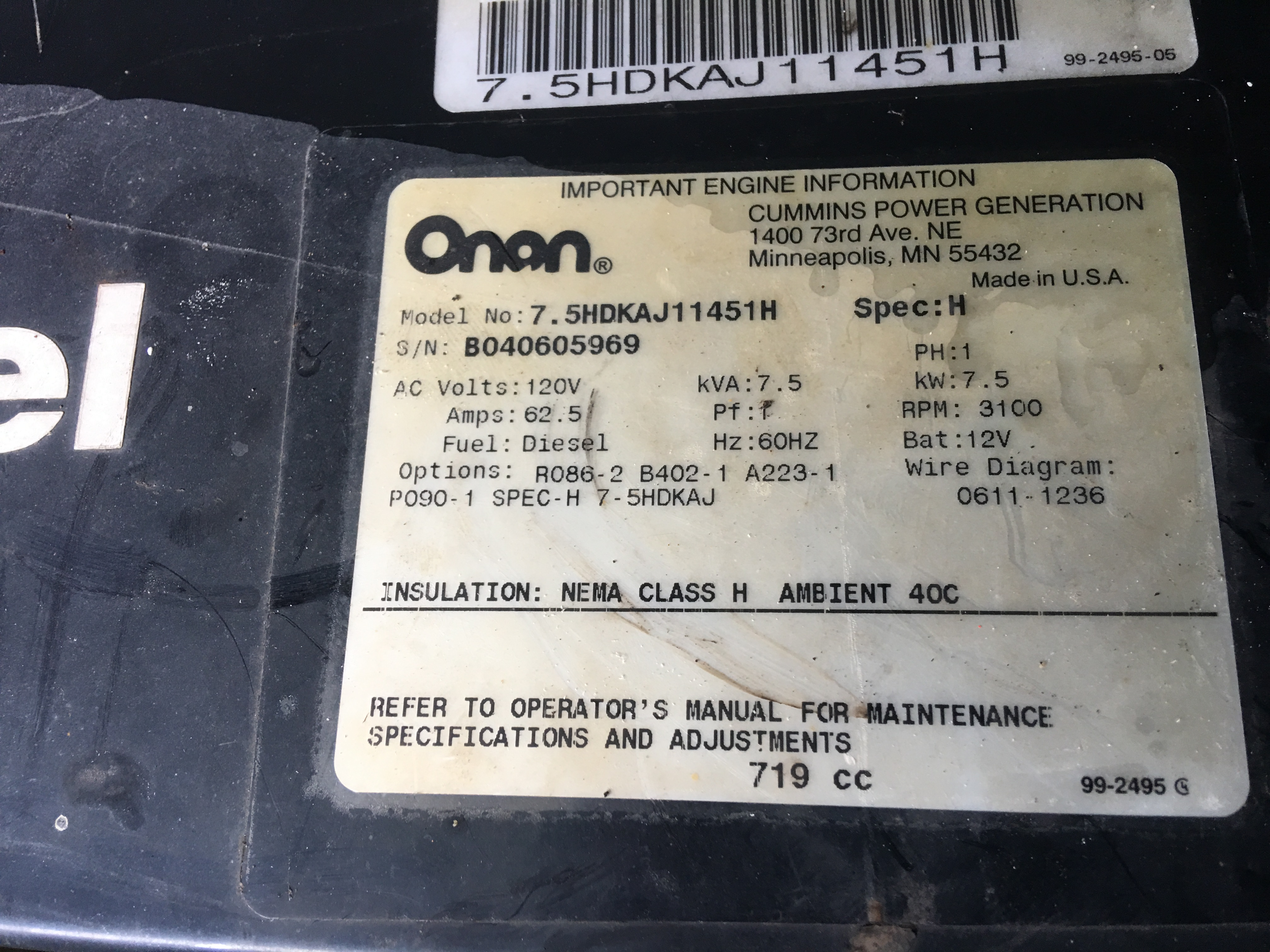 Onan 2500 Fault Code 46 Exact Is Low Voltage I Have Inverter Charger Wiring Diagram 127addc4 8295 4638 8f3c 4aed7838f286jpeg