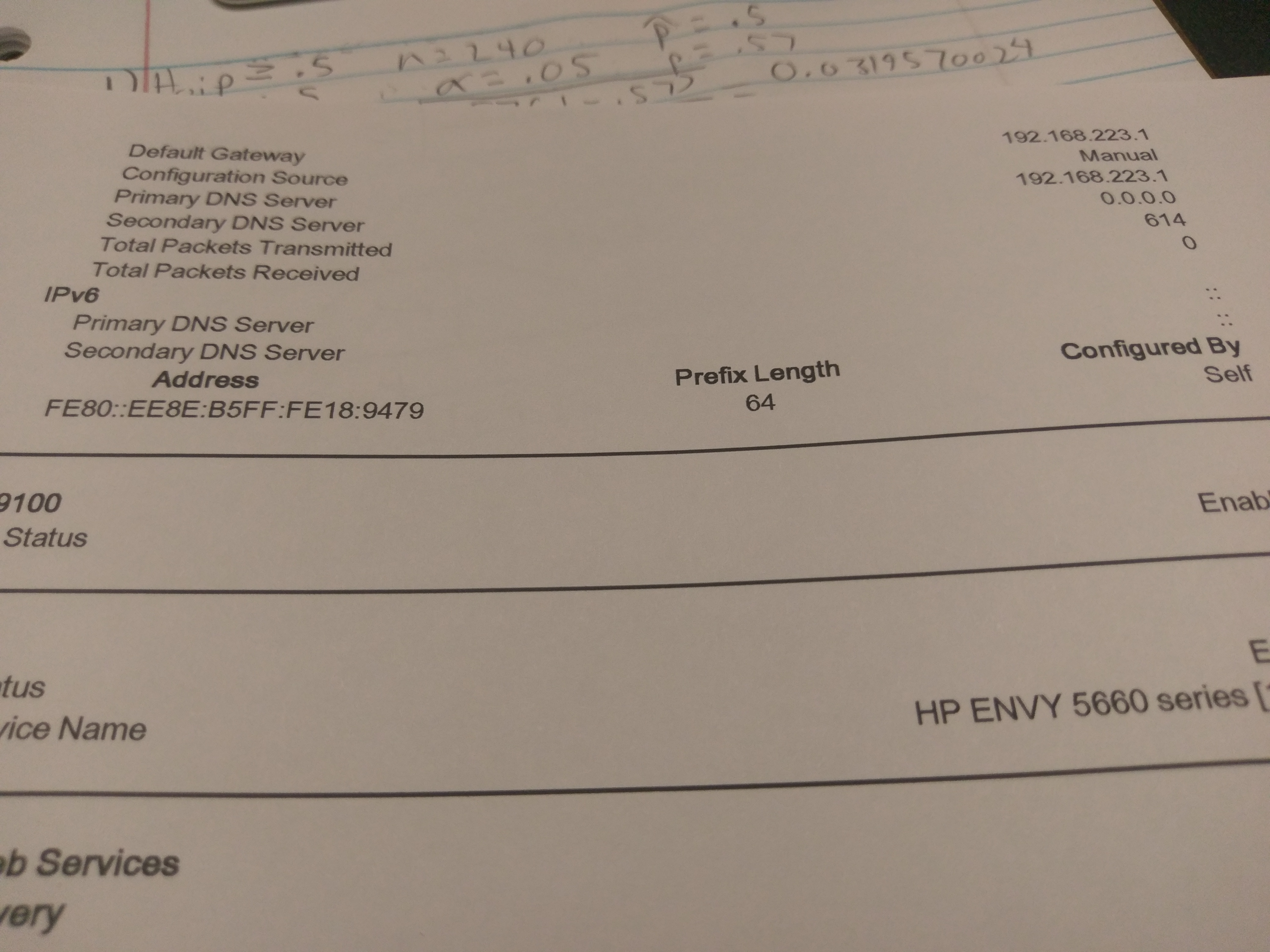 I M Trying To Find A Printer Claim Code From My Hp Envy