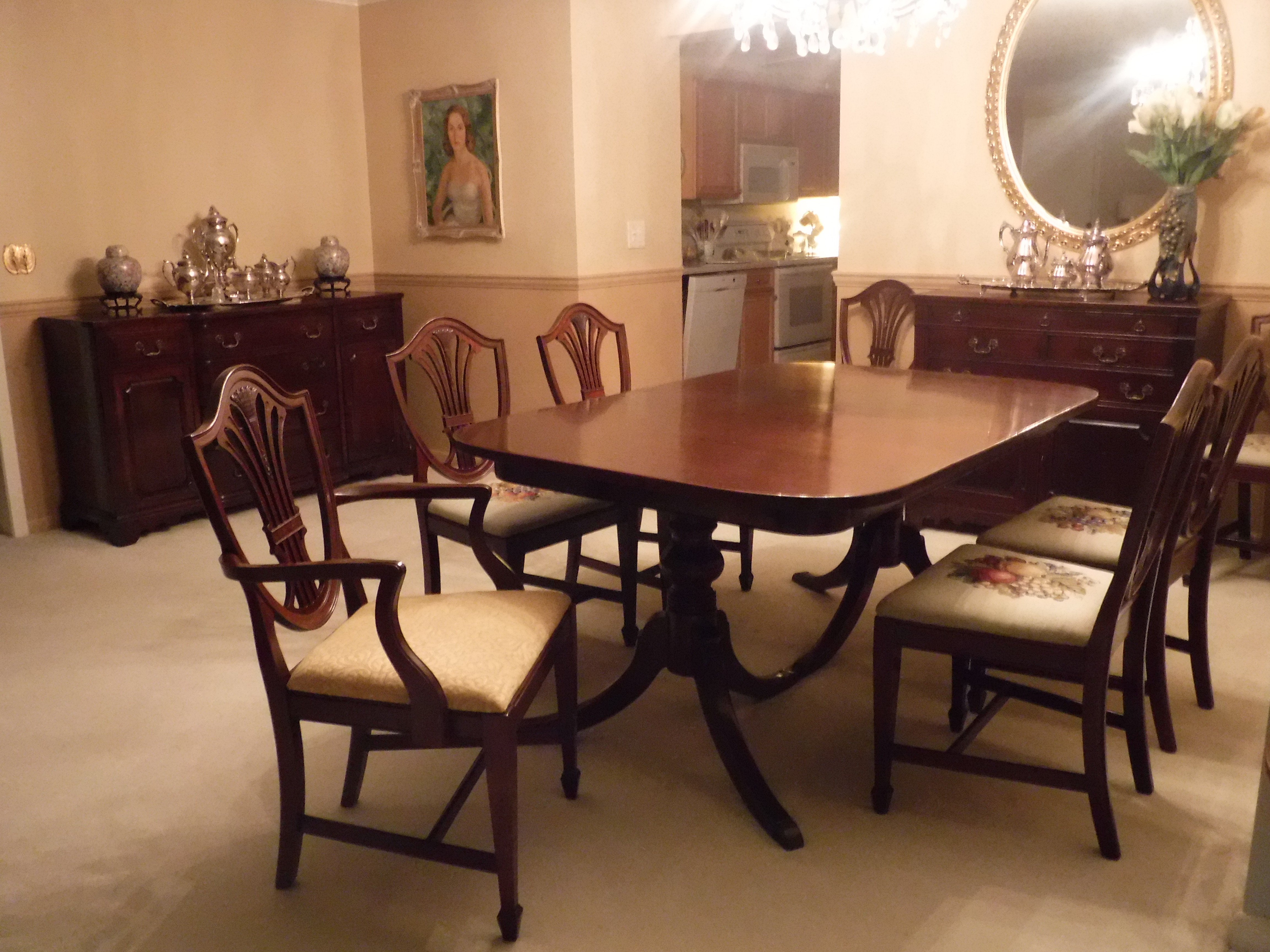 georgetown galleries by ritter dining room all 1940 s solid rh justanswer com